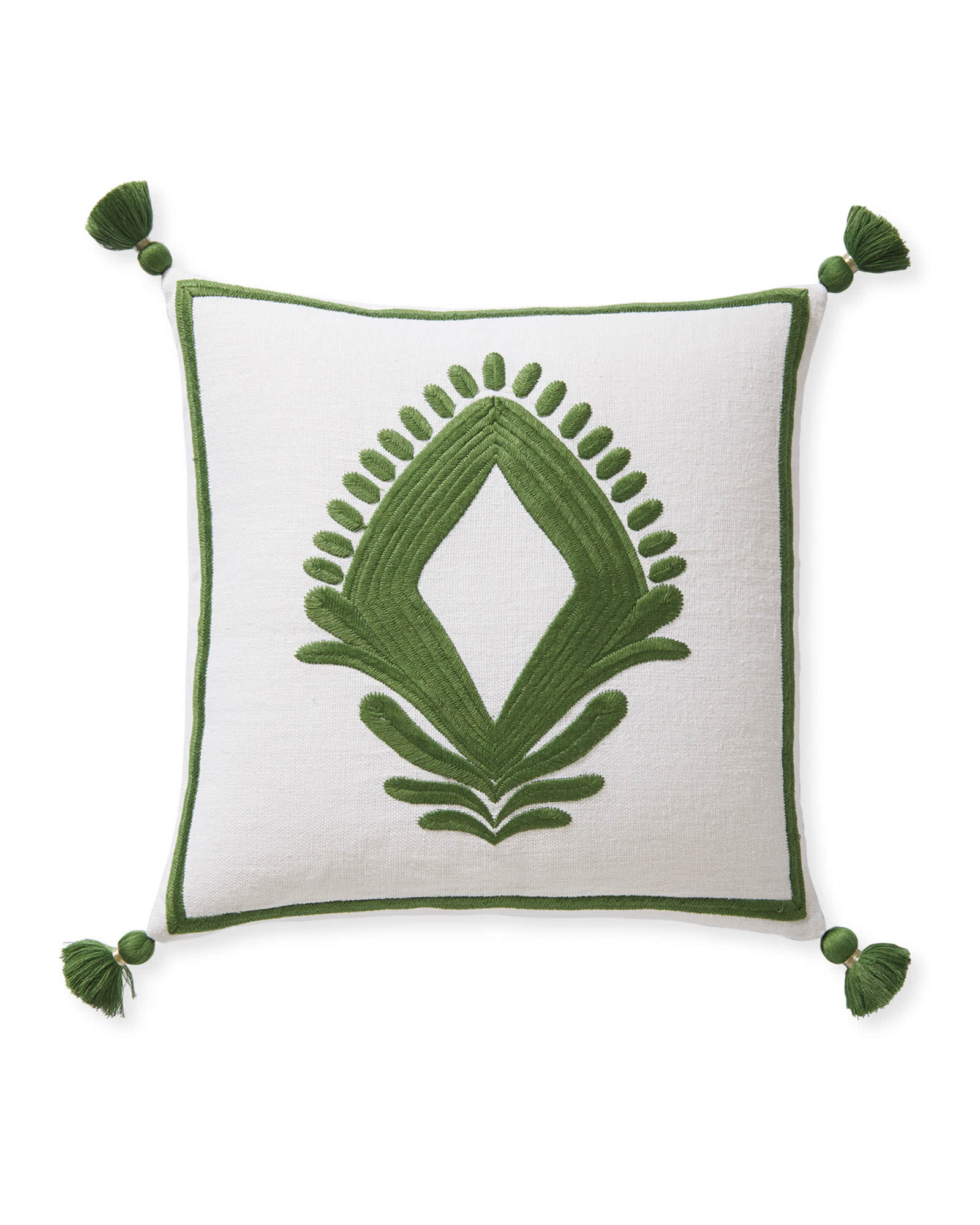 Lincoln Pillow Cover, Moss