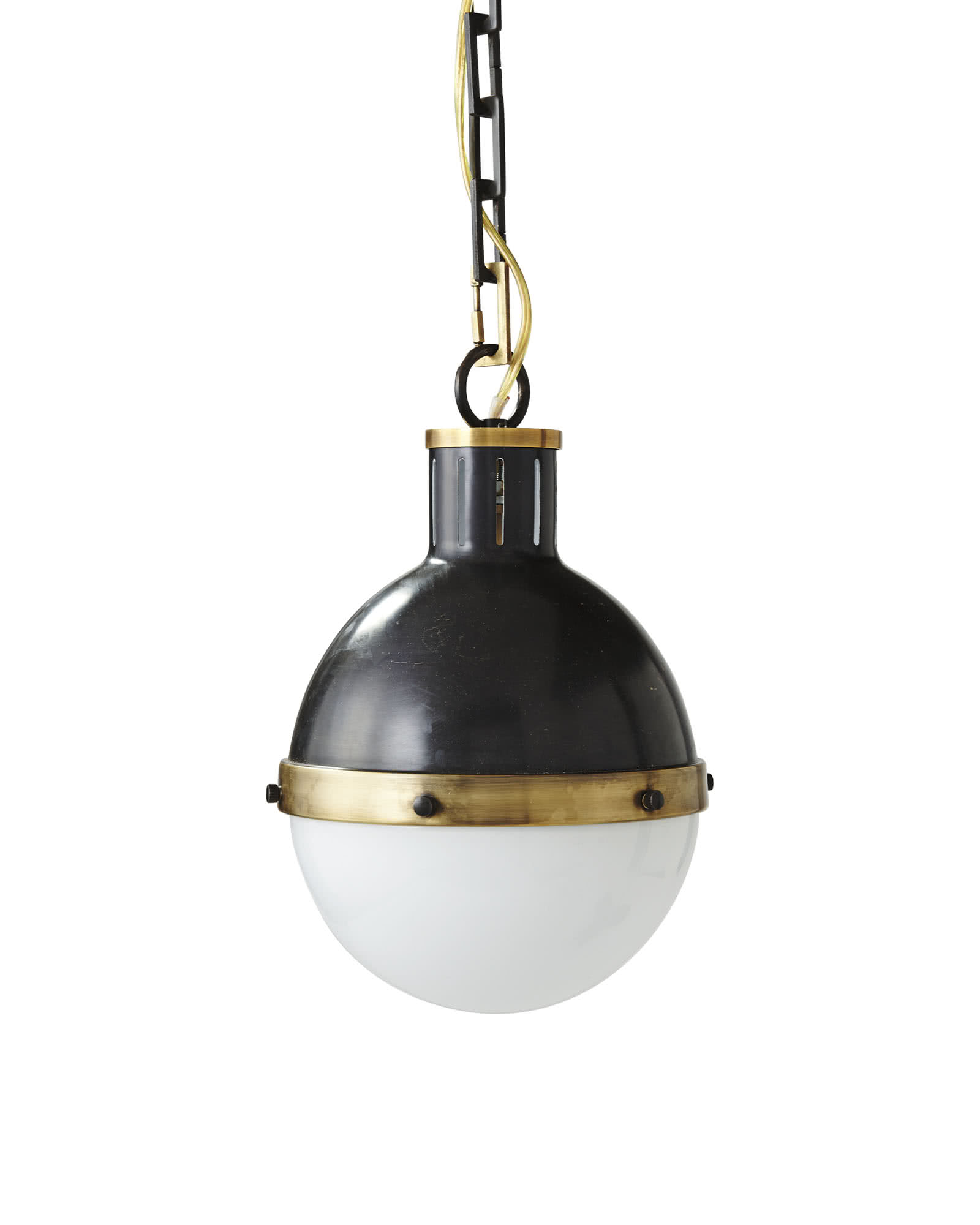 Whitman Pendant, Brass
