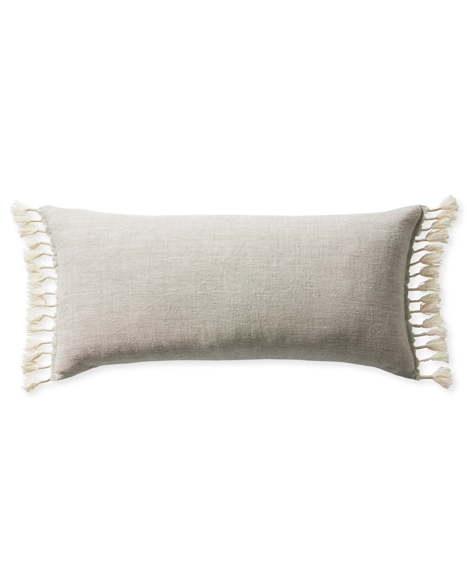 Topanga Pillow Cover, Ivory