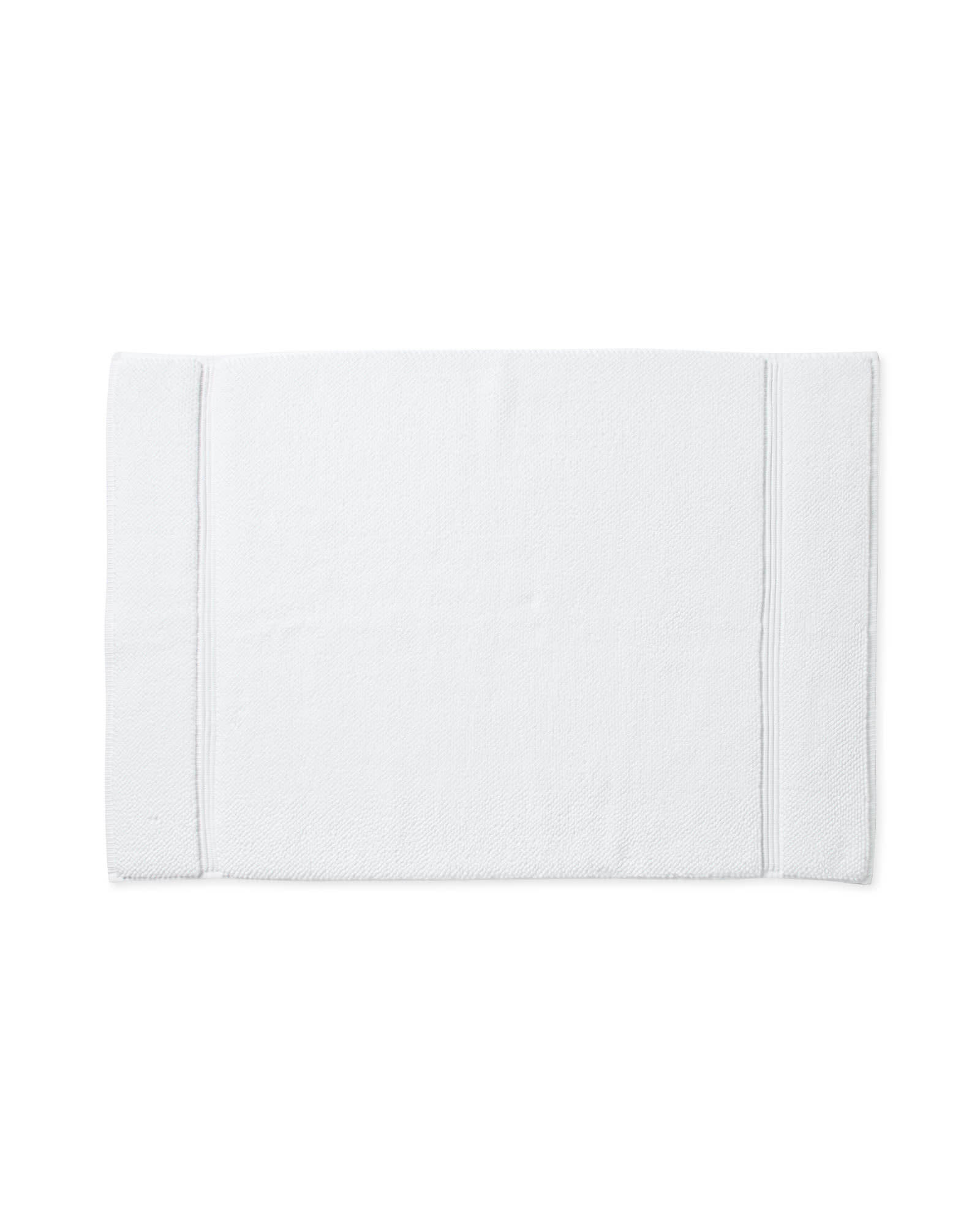 Turkish Bath Mat, White