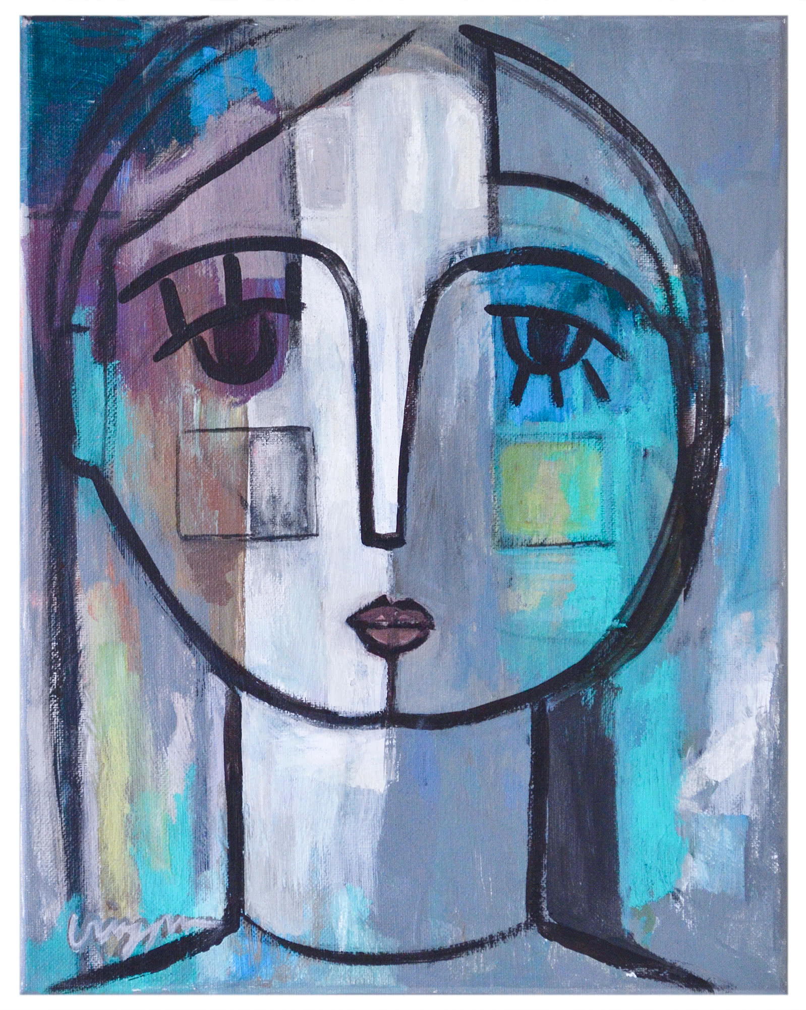 """""""She's Figuring Things Out"""" by Craig Greene,"""