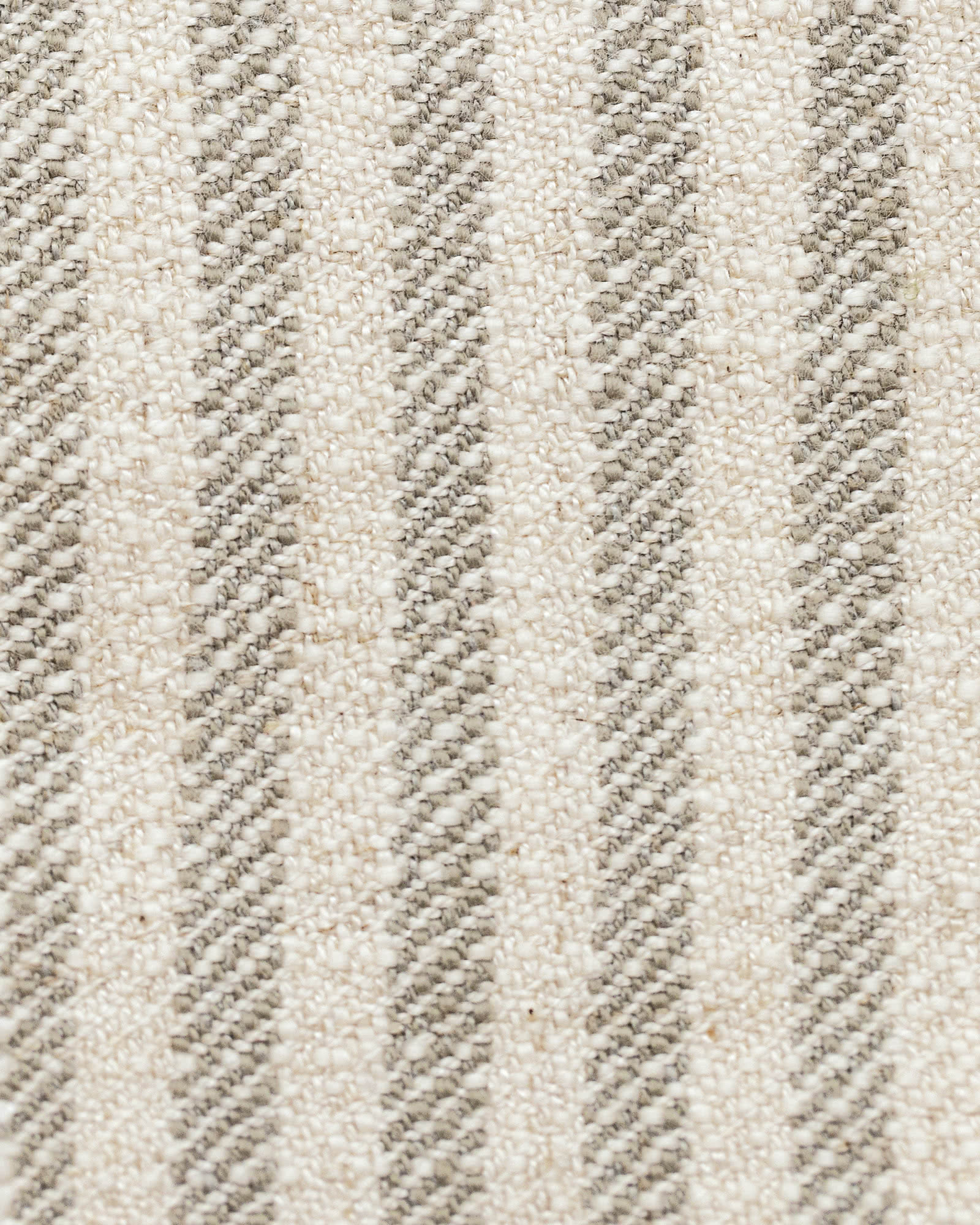 Meridian Stripe Fabric, Fog