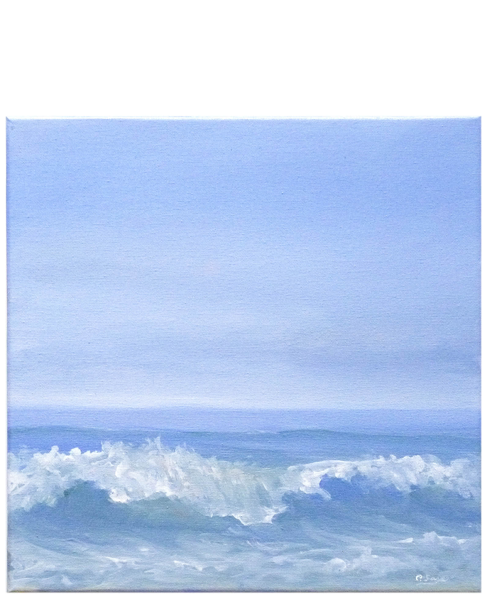"""Breaking Wave (small)"" by Carol Saxe,"