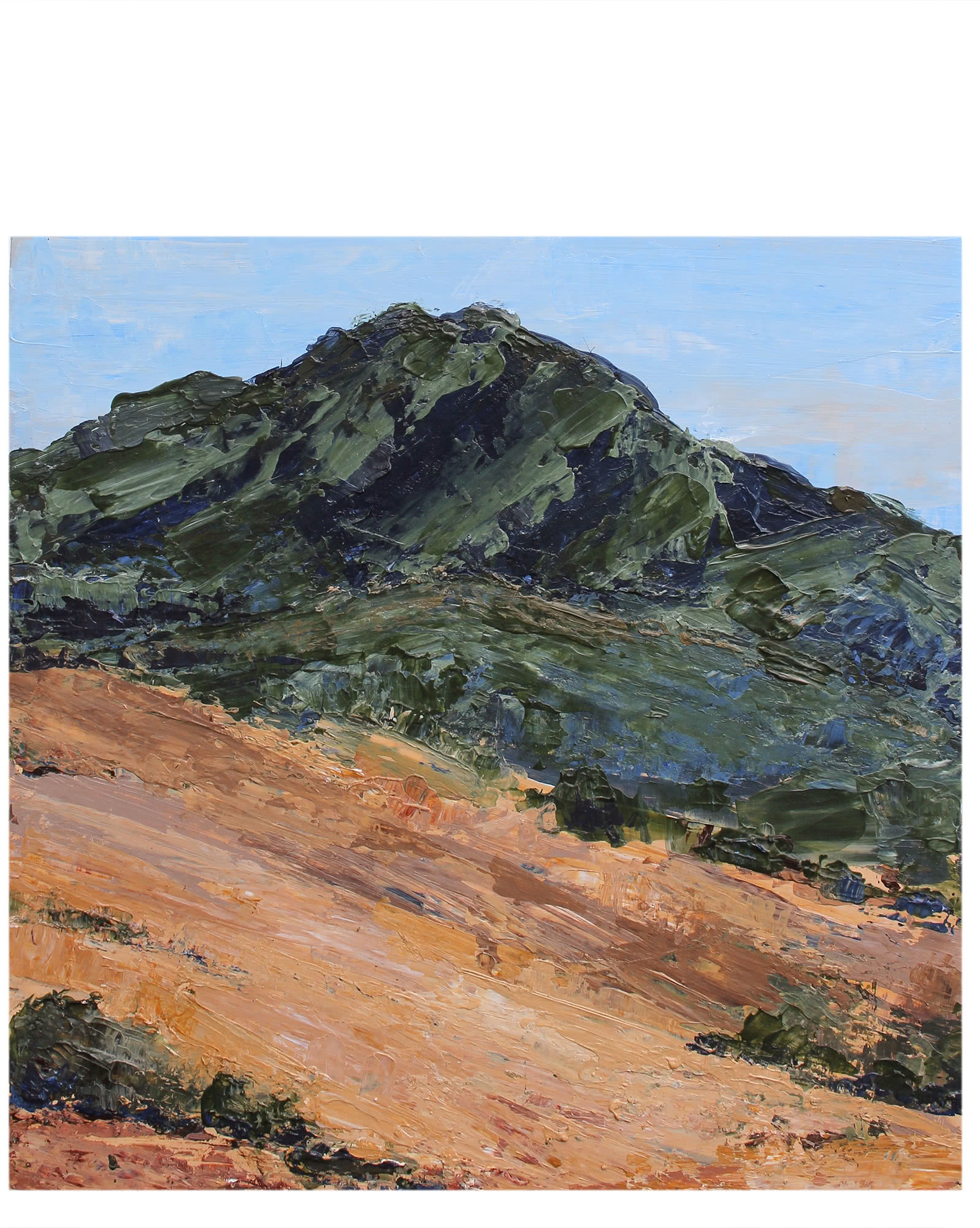 """""""Mt. Tam from Ring Mountain"""" by Kenna Norris,"""