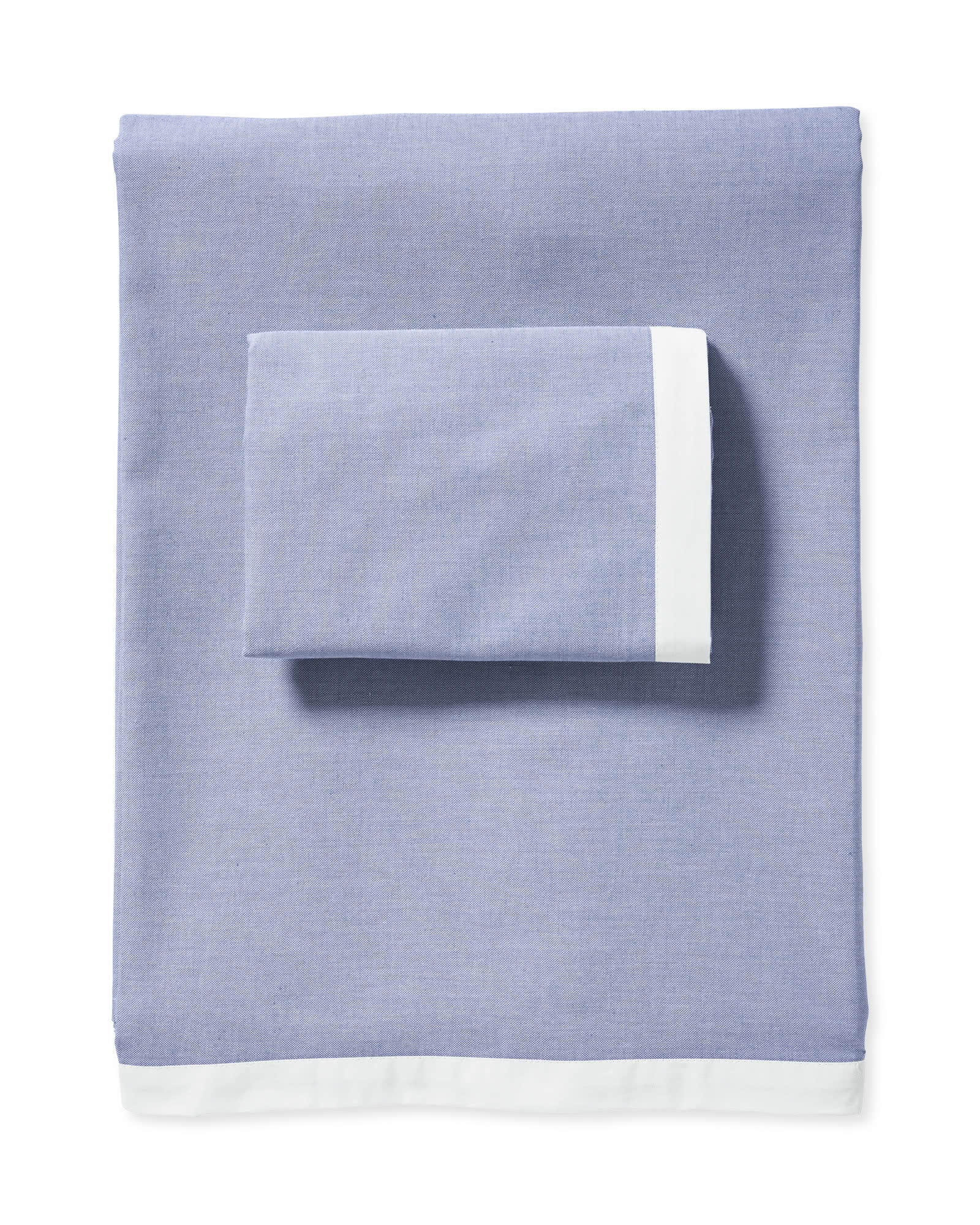 Wainscott Sheet Set, Chambray