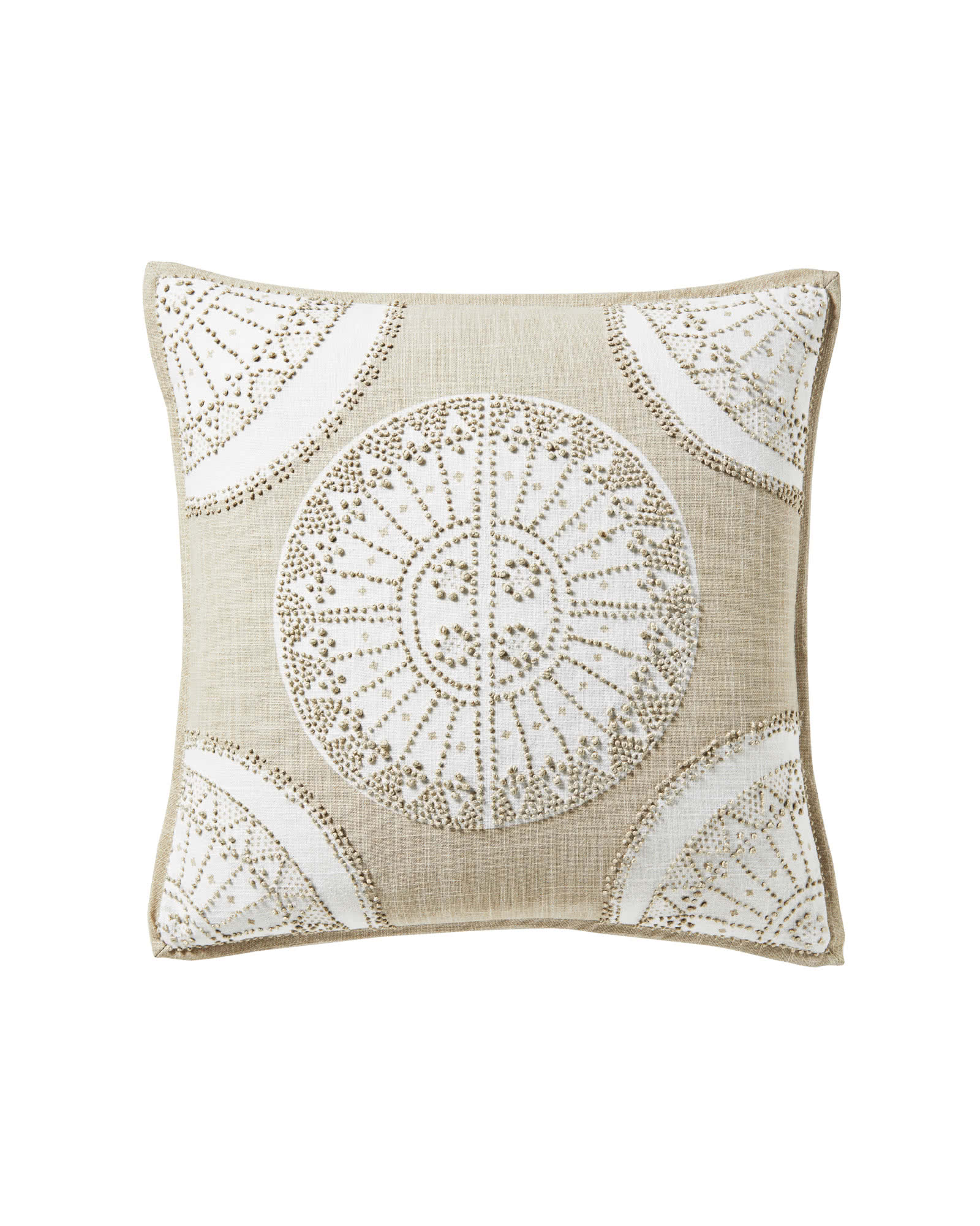 Lucia Pillow Cover, Sand