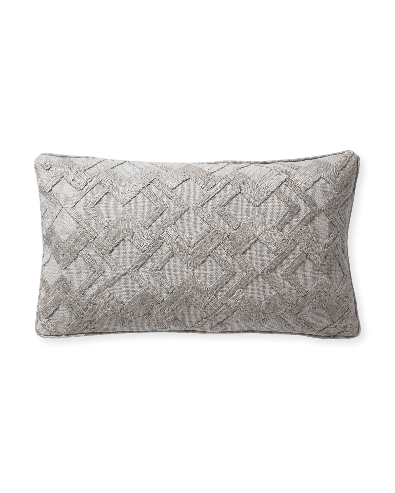 Paige Pillow Cover, Smoke