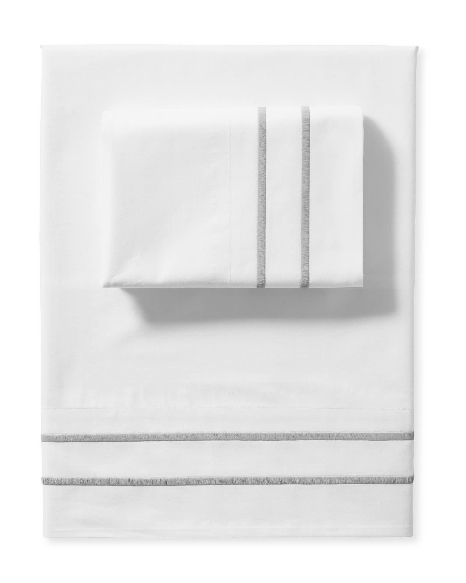 Southport Sheet Set, Smoke