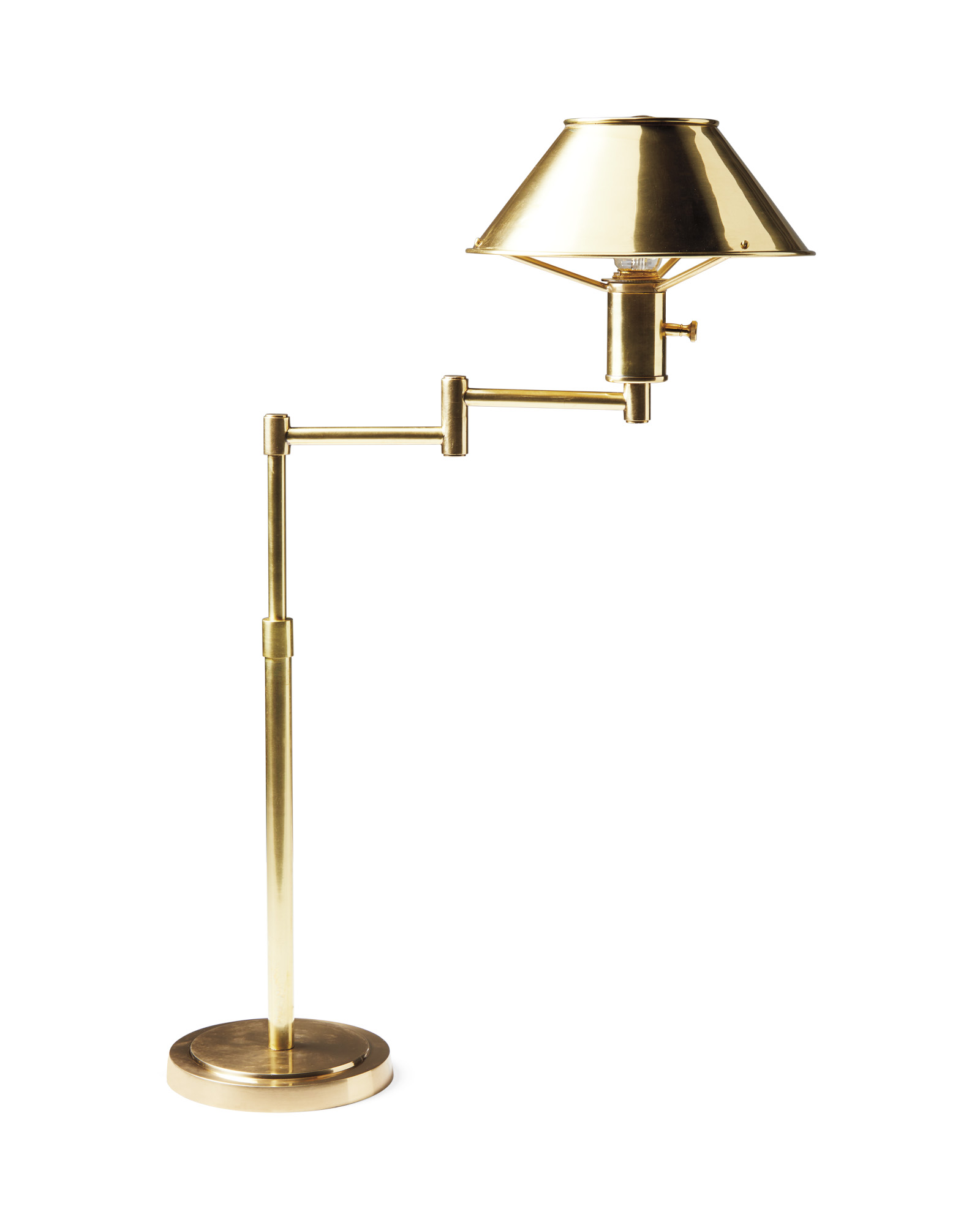 Amherst Swing Arm Table Lamp,