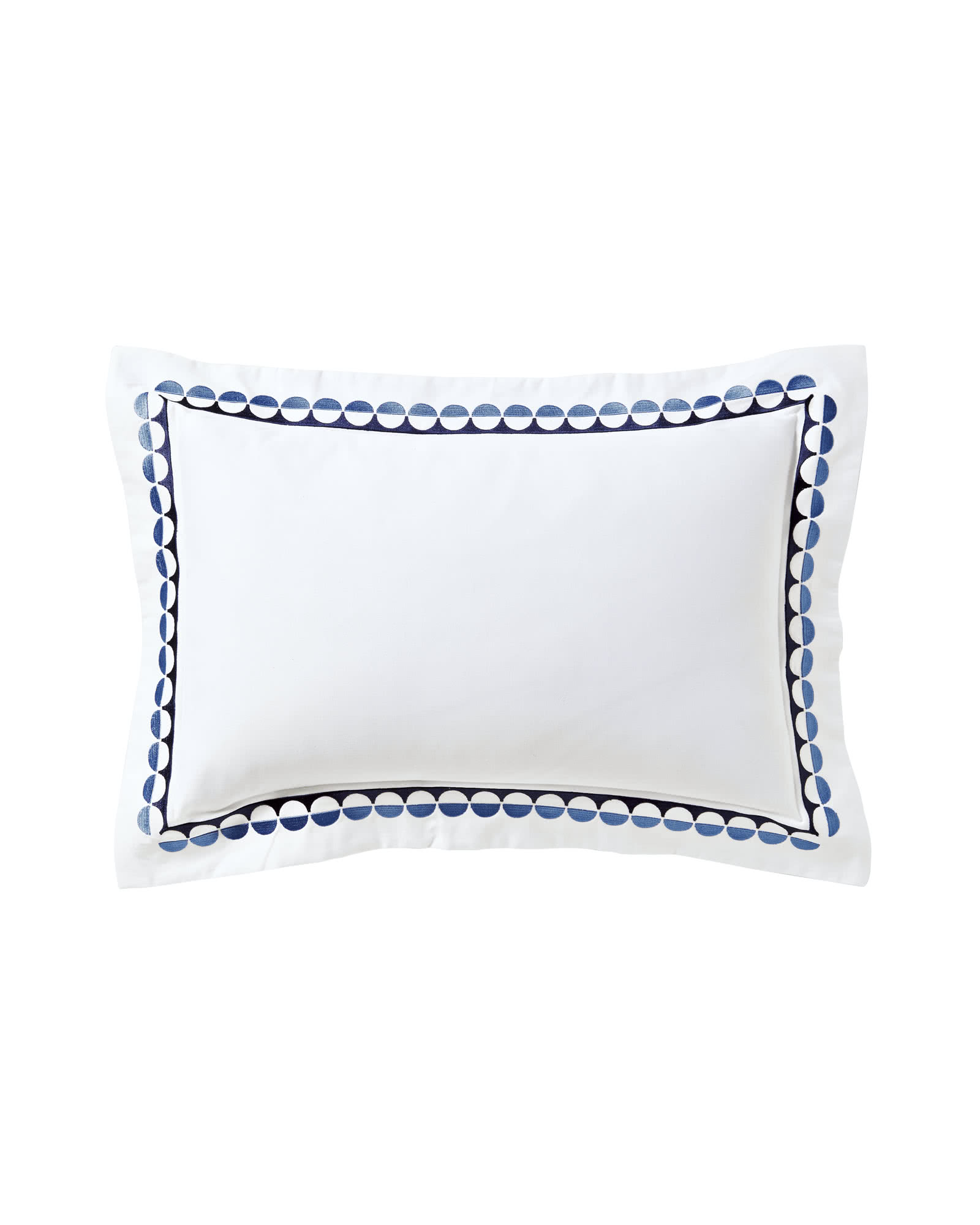 Oceanside Boudoir Pillow,
