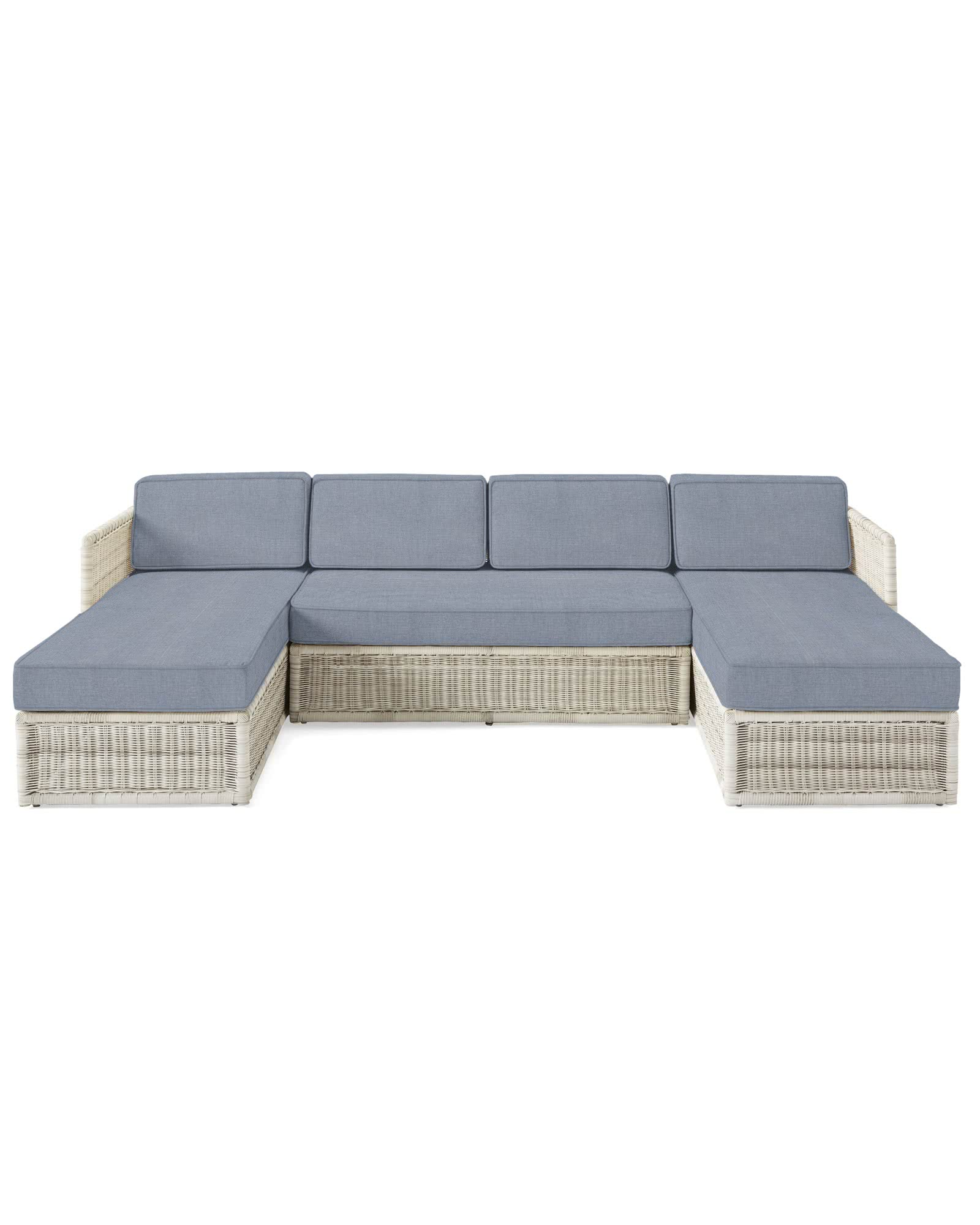 Pacifica U-Sectional - Driftwood,