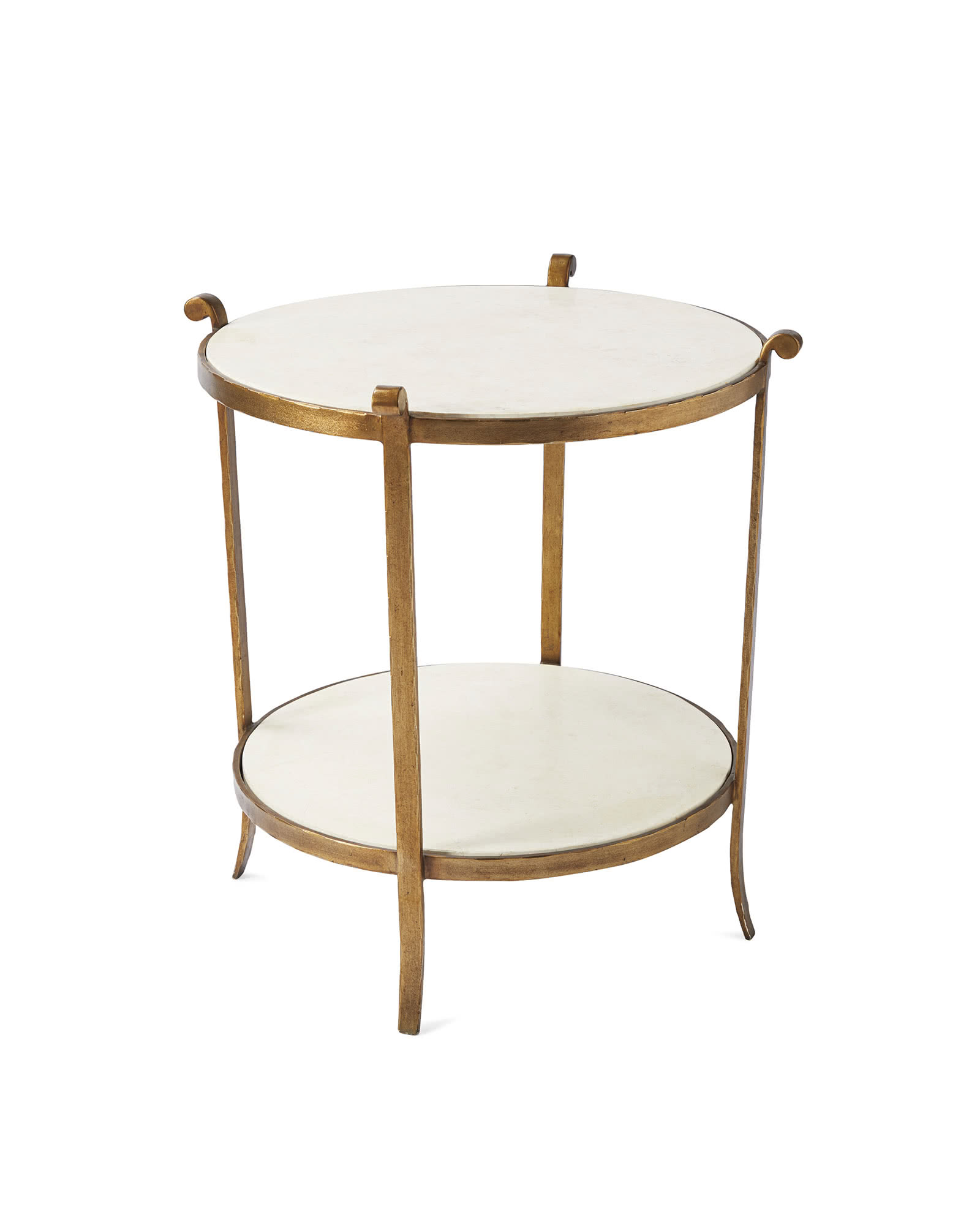 St. Germain Stone Side Table,