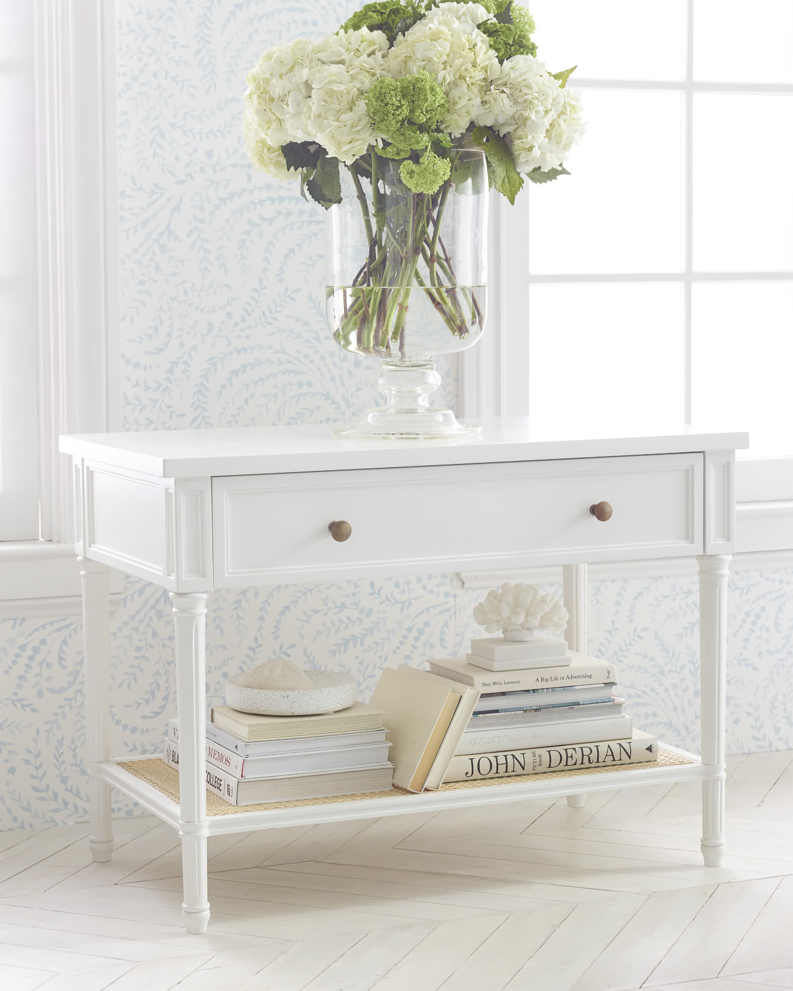 Harbour Cane Nightstand,