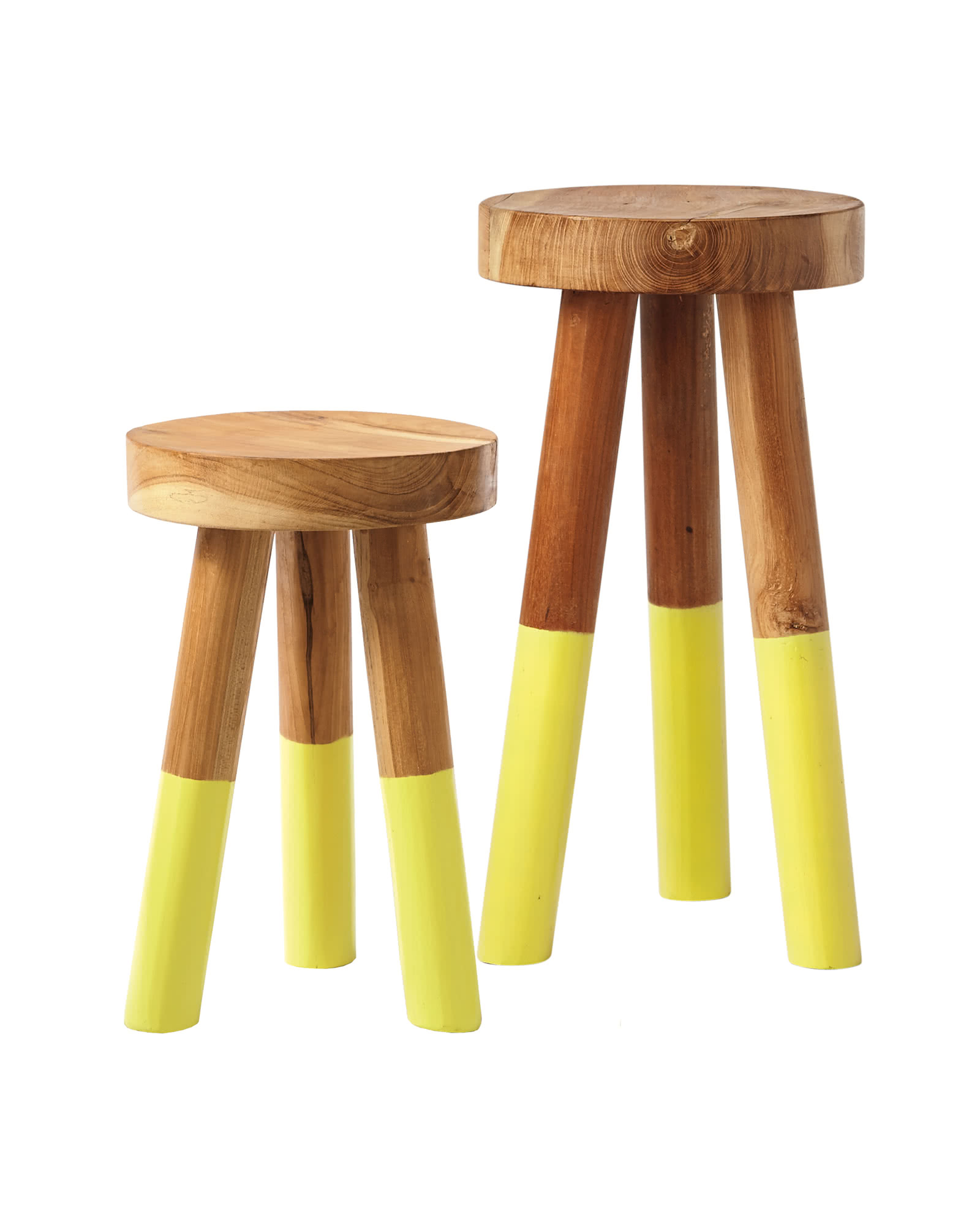 Dip Dyed Stools Serena Amp Lily