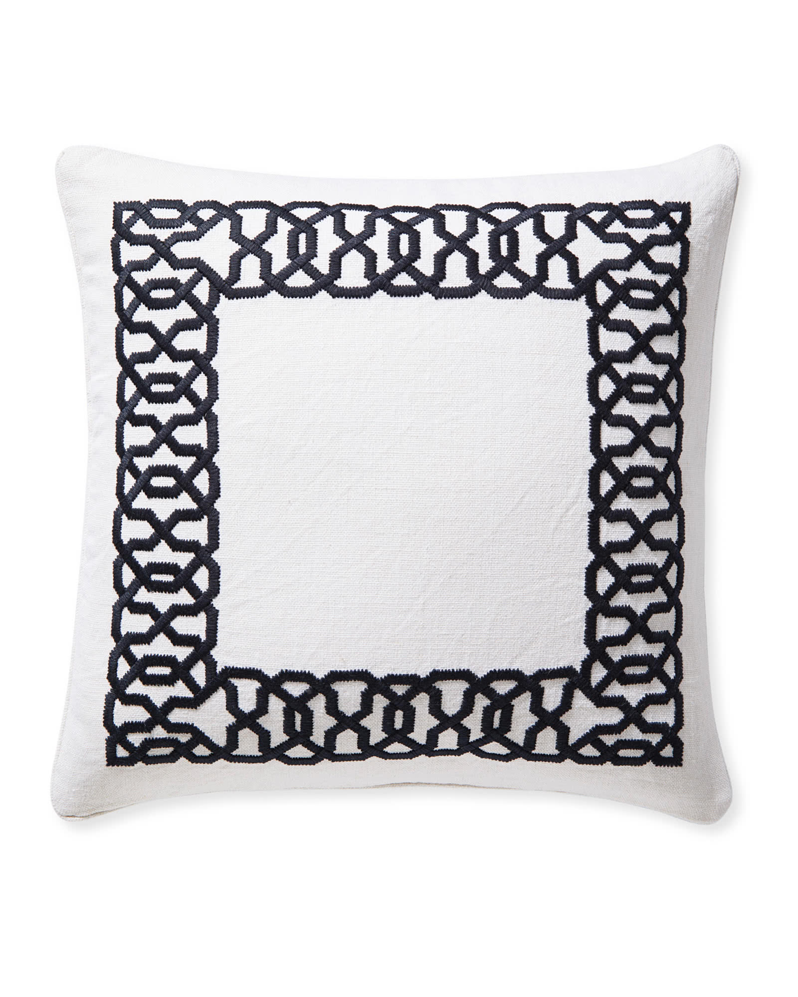 Jetty Pillow Cover, Midnight