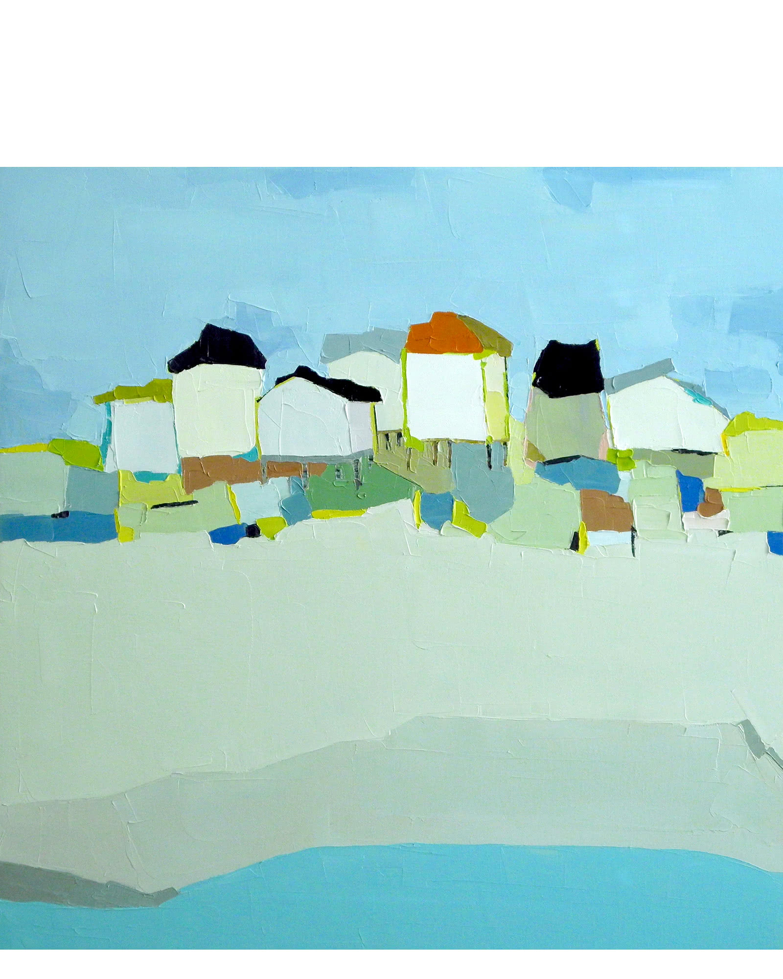 """Beachfront Abstraction"" by Donna Walker,"