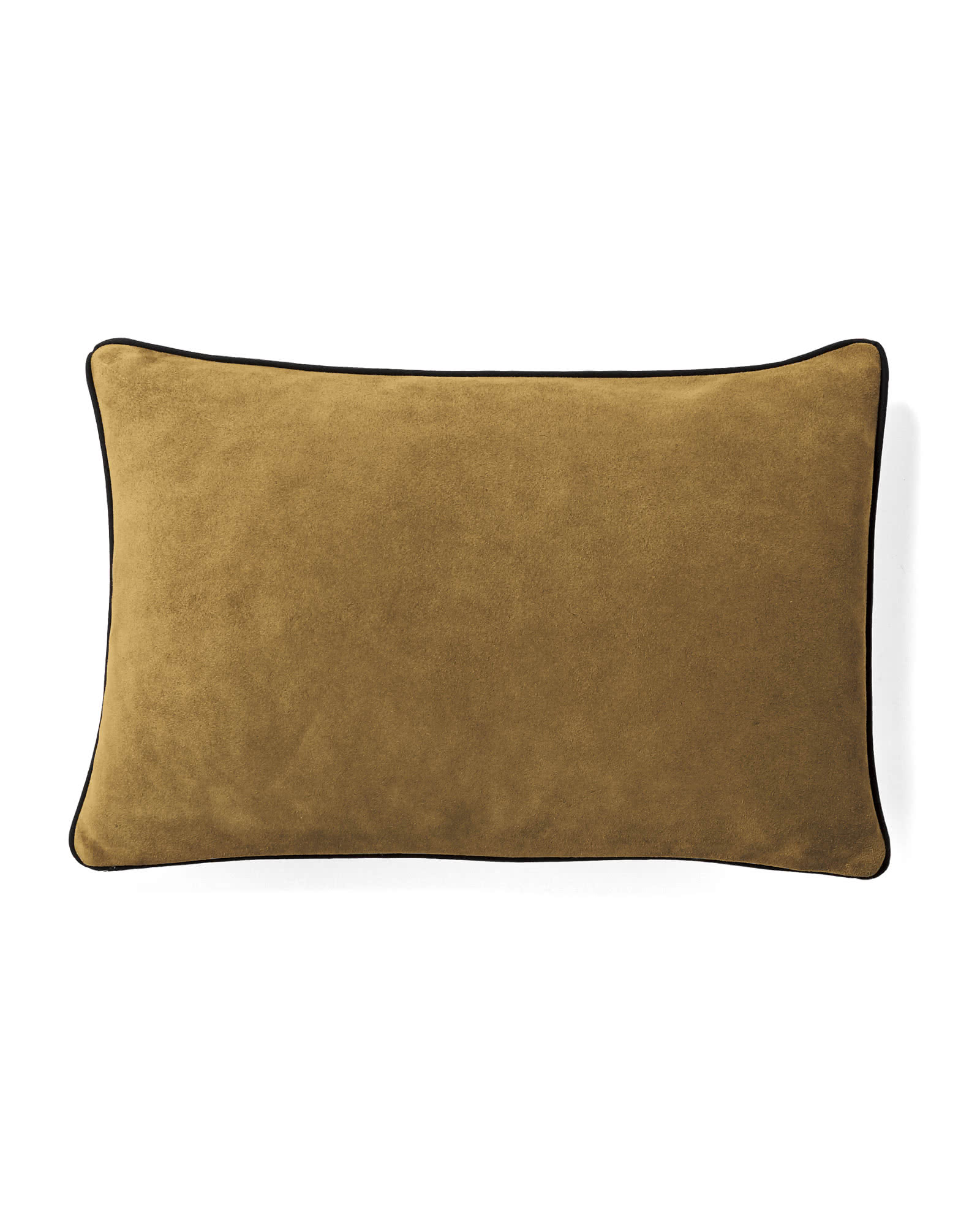 Suede Pillow Cover, Camel