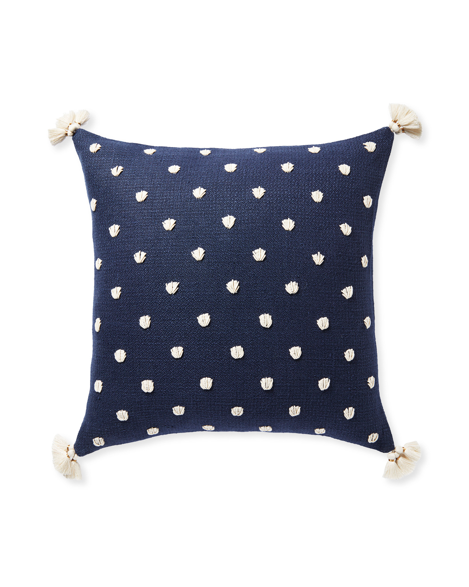 East Beach Pillow Cover, Navy
