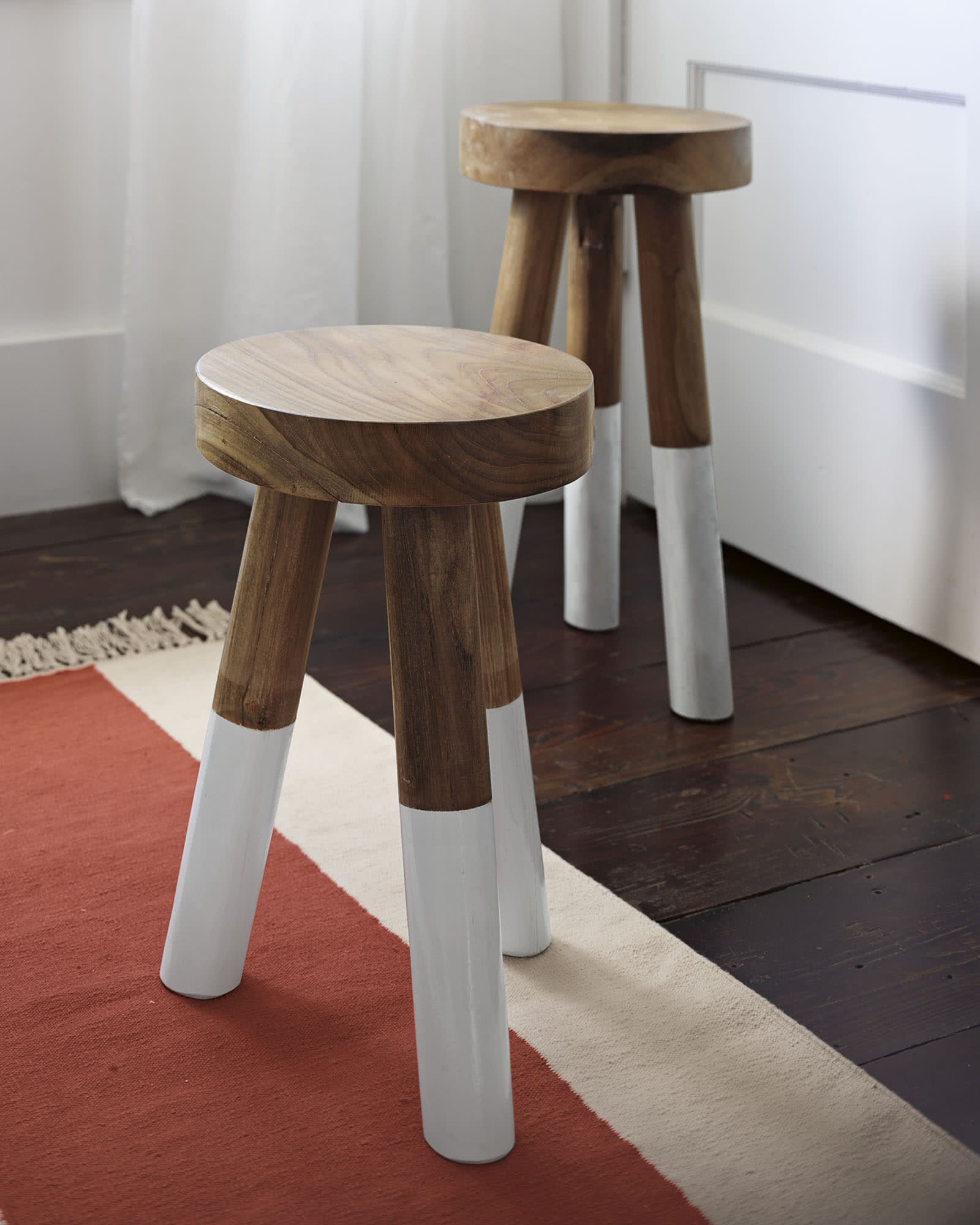 Dip Dyed Stools Serena Amp Lily Site