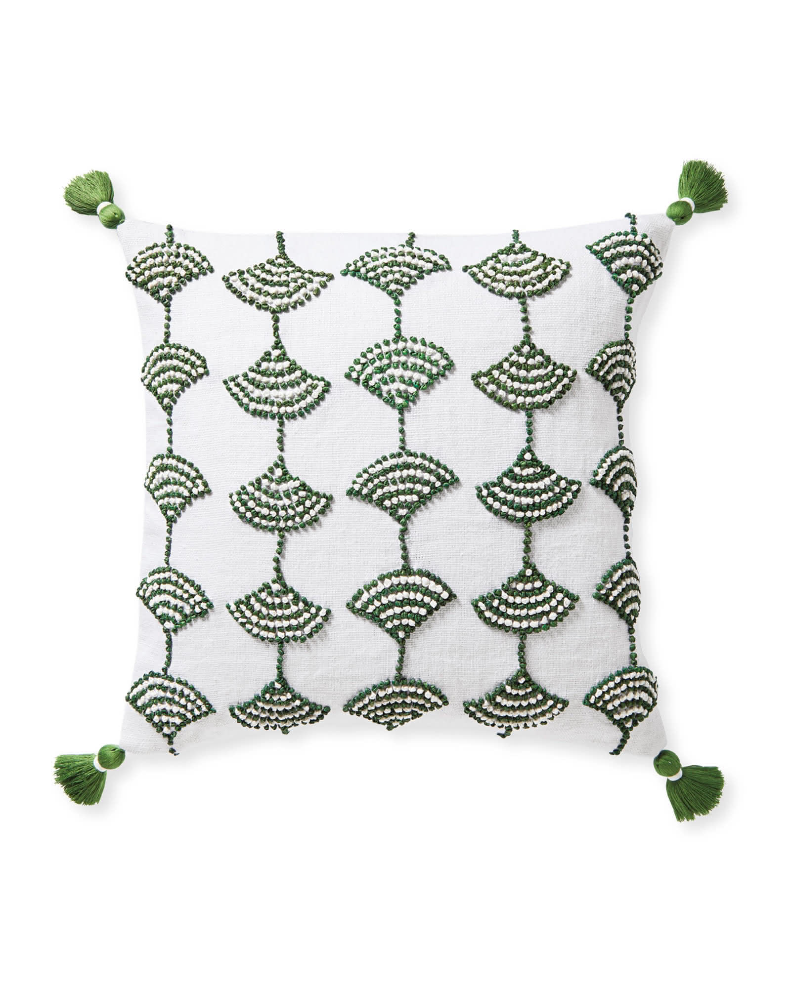 Isora Pillow Cover, Moss
