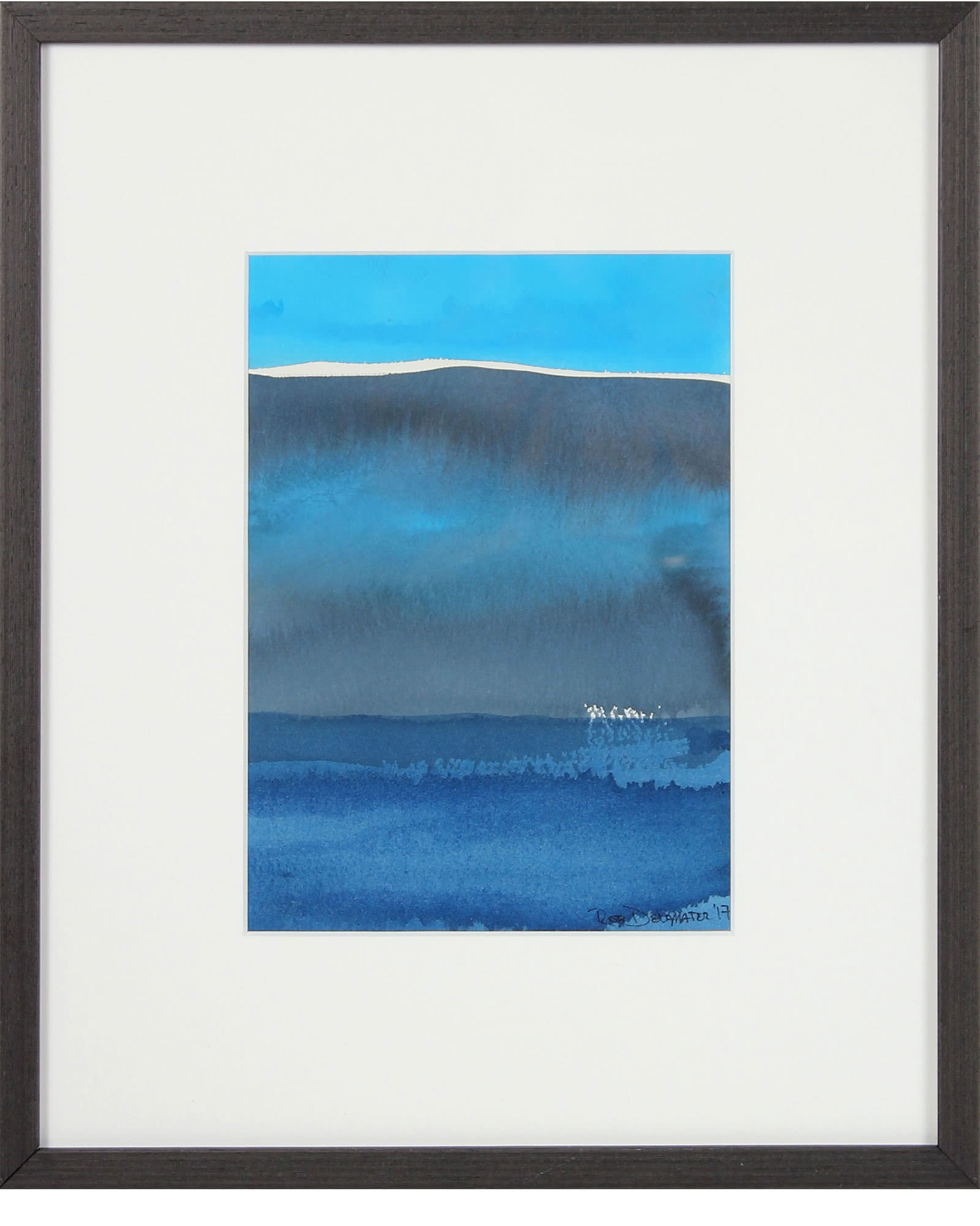"""Beyond Blue I"" by Rob Delamater,"
