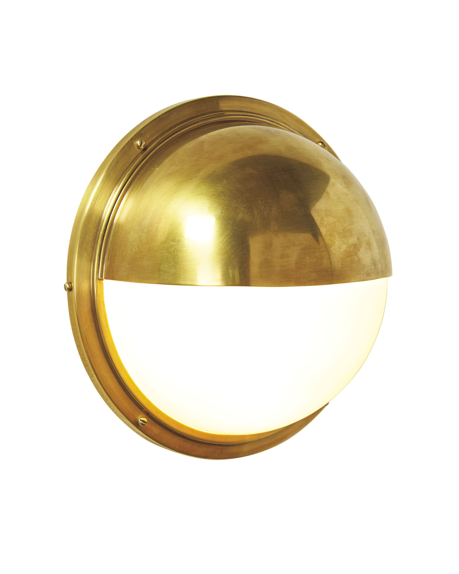 Portside Sconce, Antique Brass