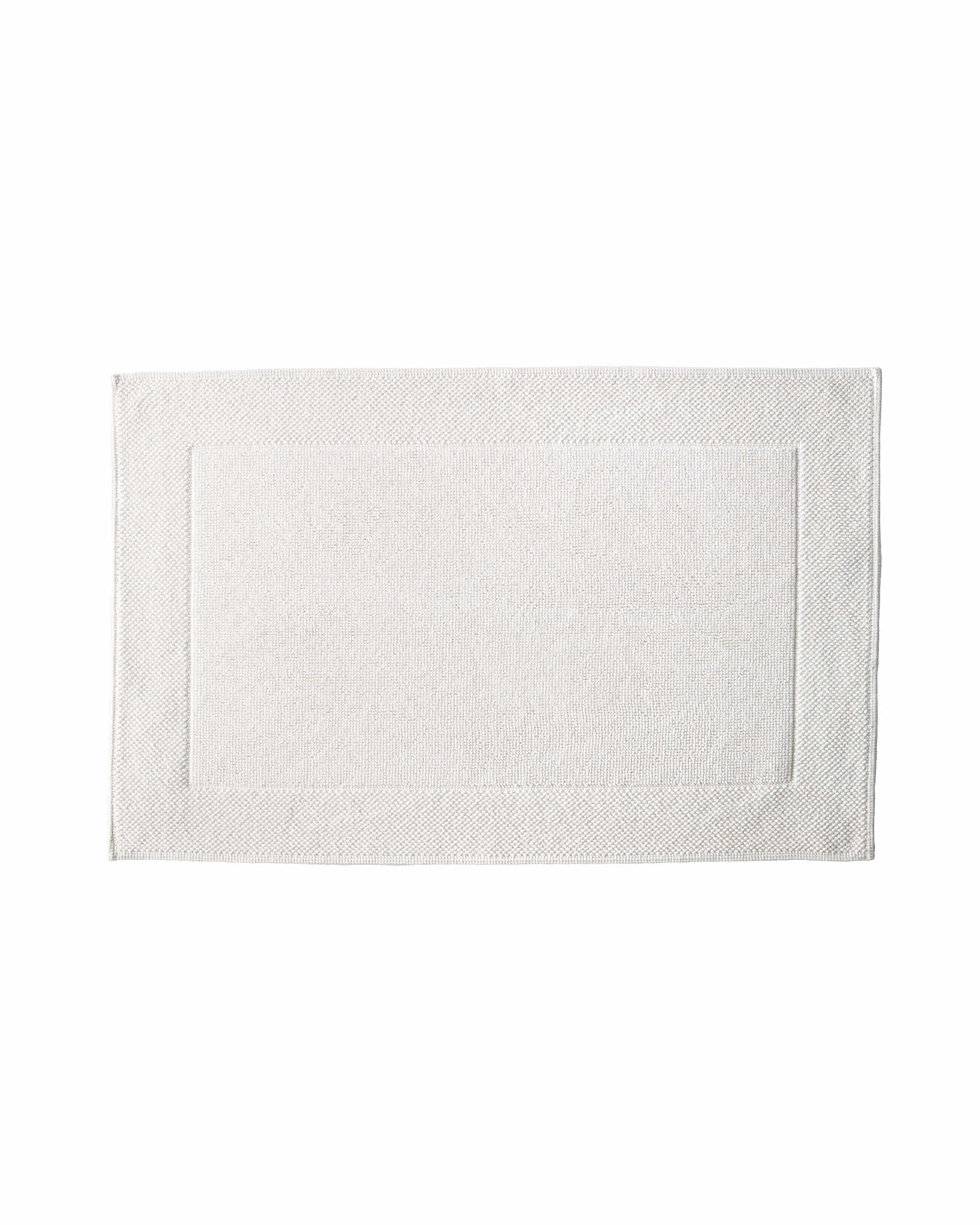 Textured Cotton Bath Mat,