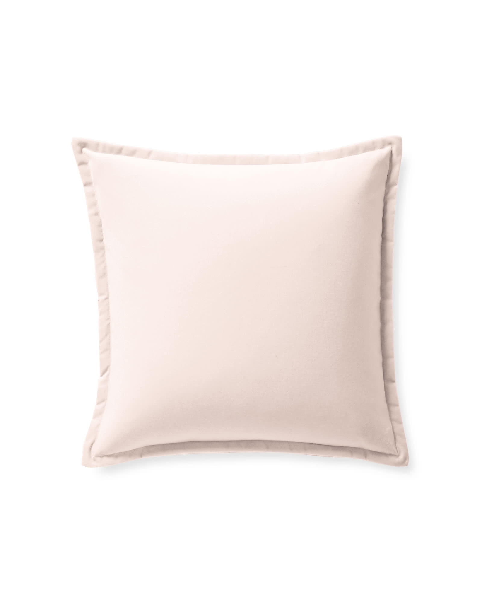 Quinn Velvet Pillow Cover, Pink Sand