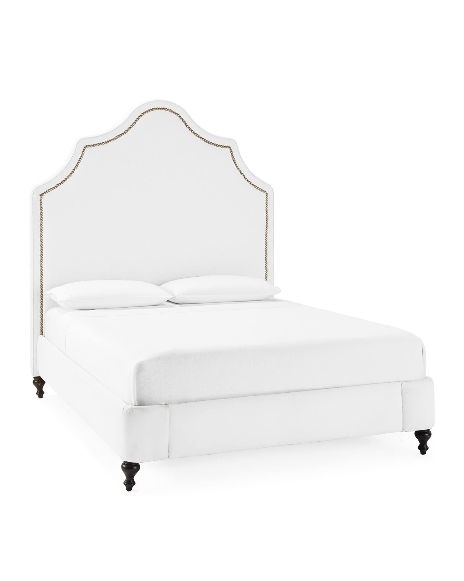 Pondicherry Bed with Nailheads,