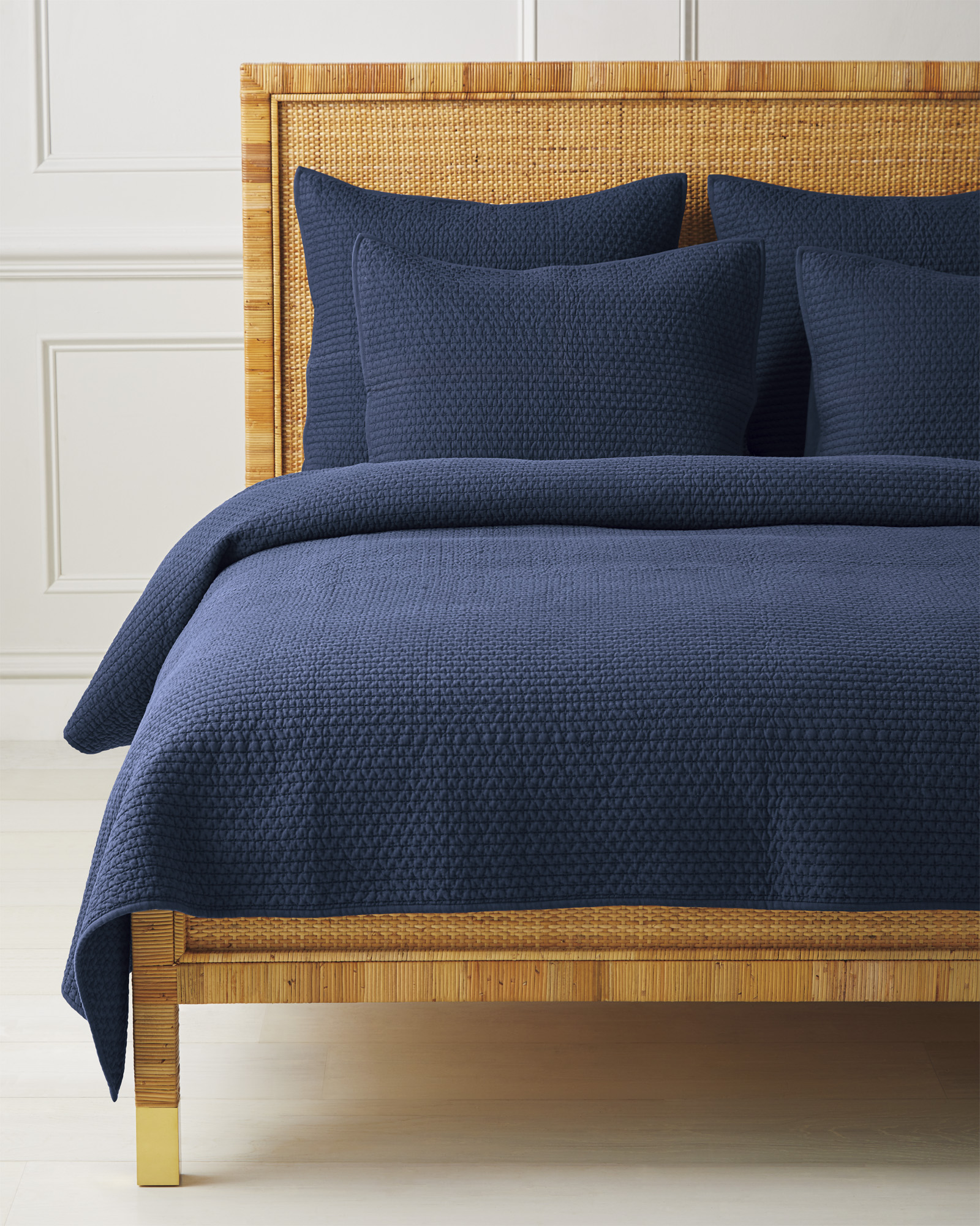 Westwood Quilt, Navy