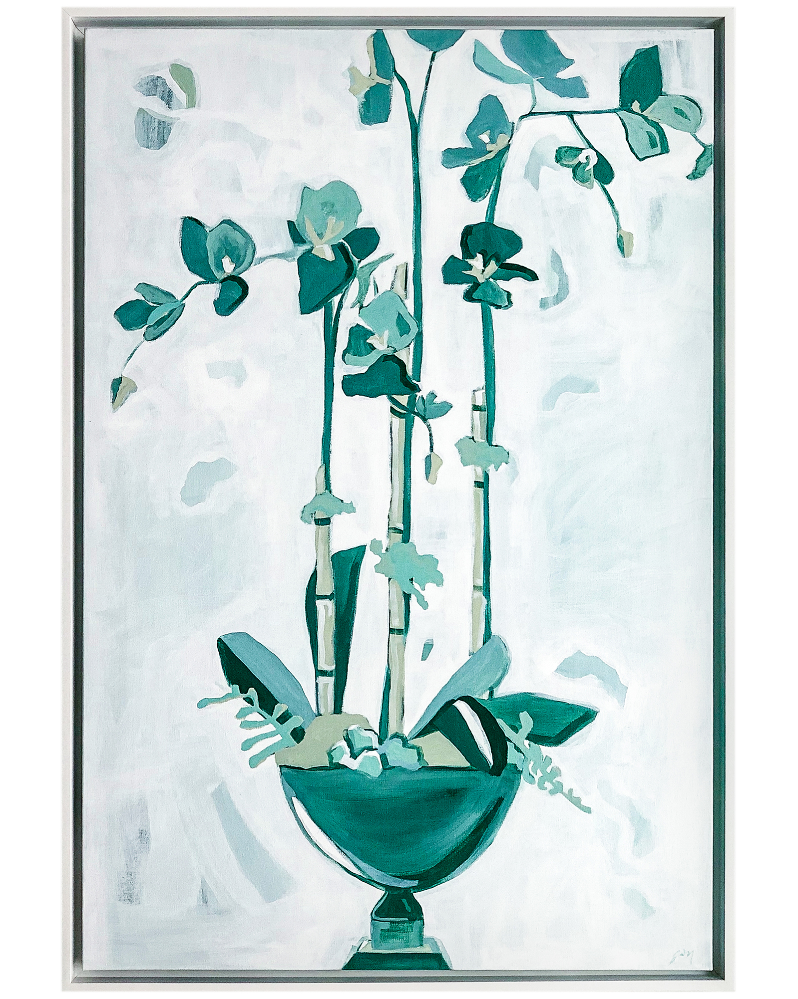 Potted Orchids III by Jessica O'Neill,