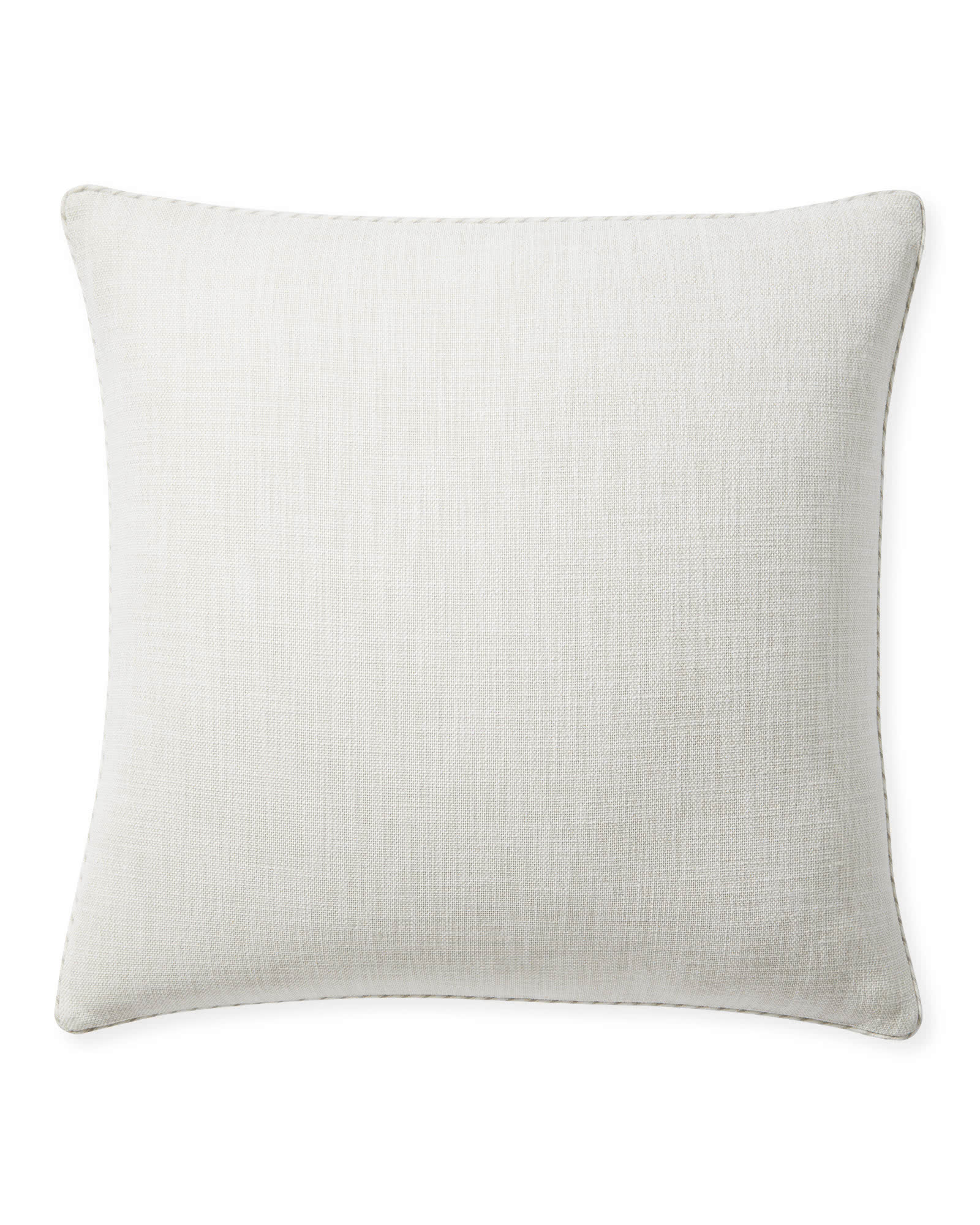 Perennials® Basketweave Outdoor Pillow Cover, Sand
