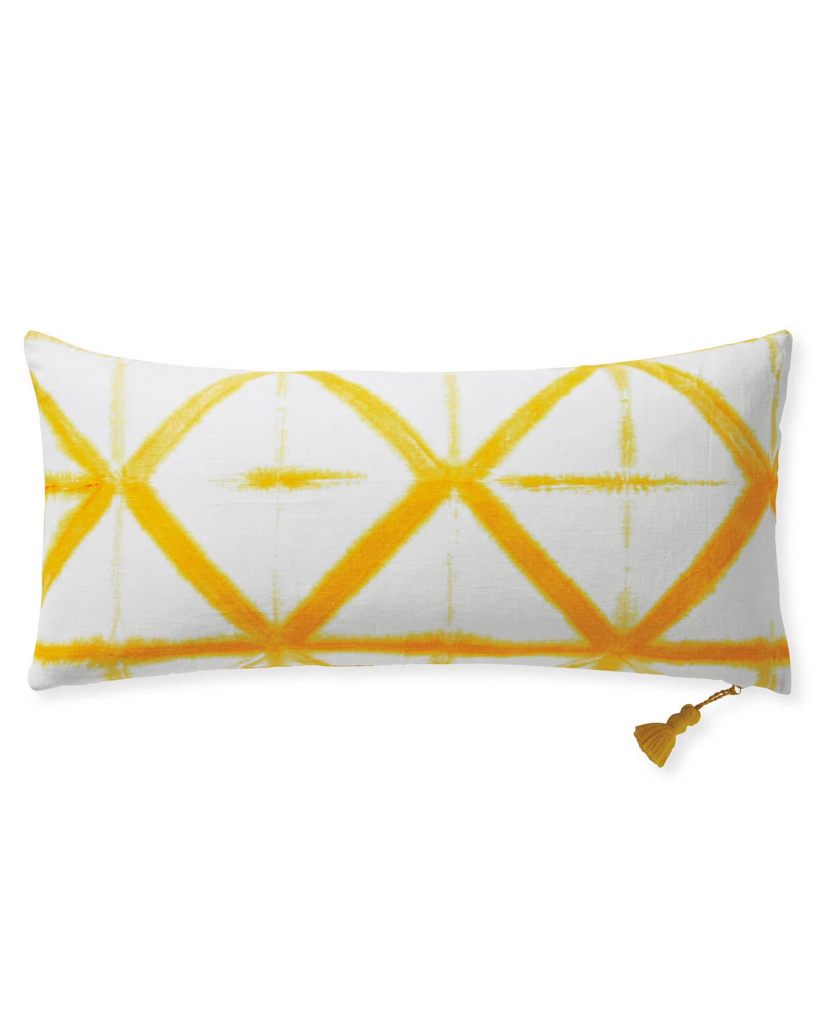 Starburst Pillow Cover, Yellow