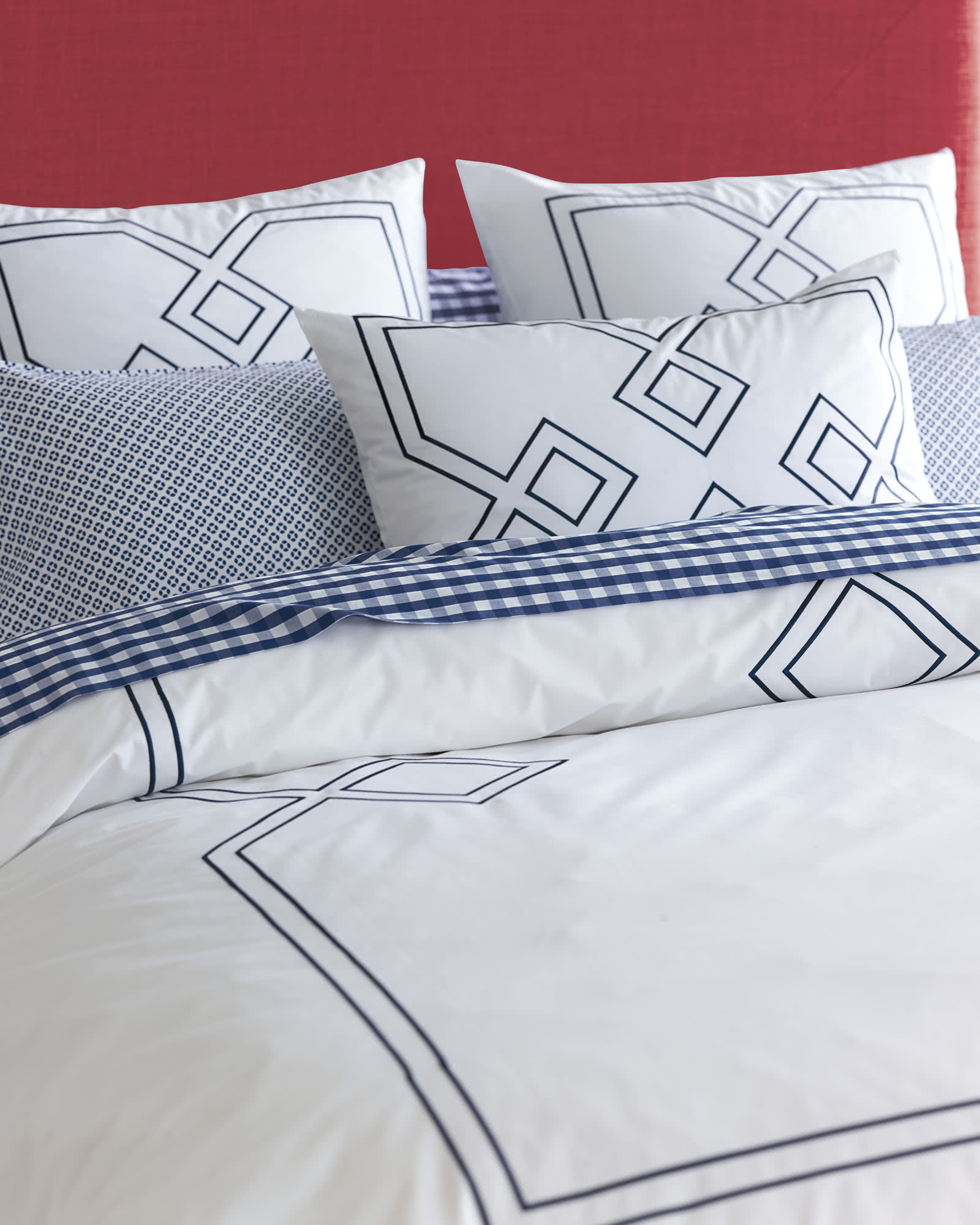 Sutton Embroidered Duvet Cover,