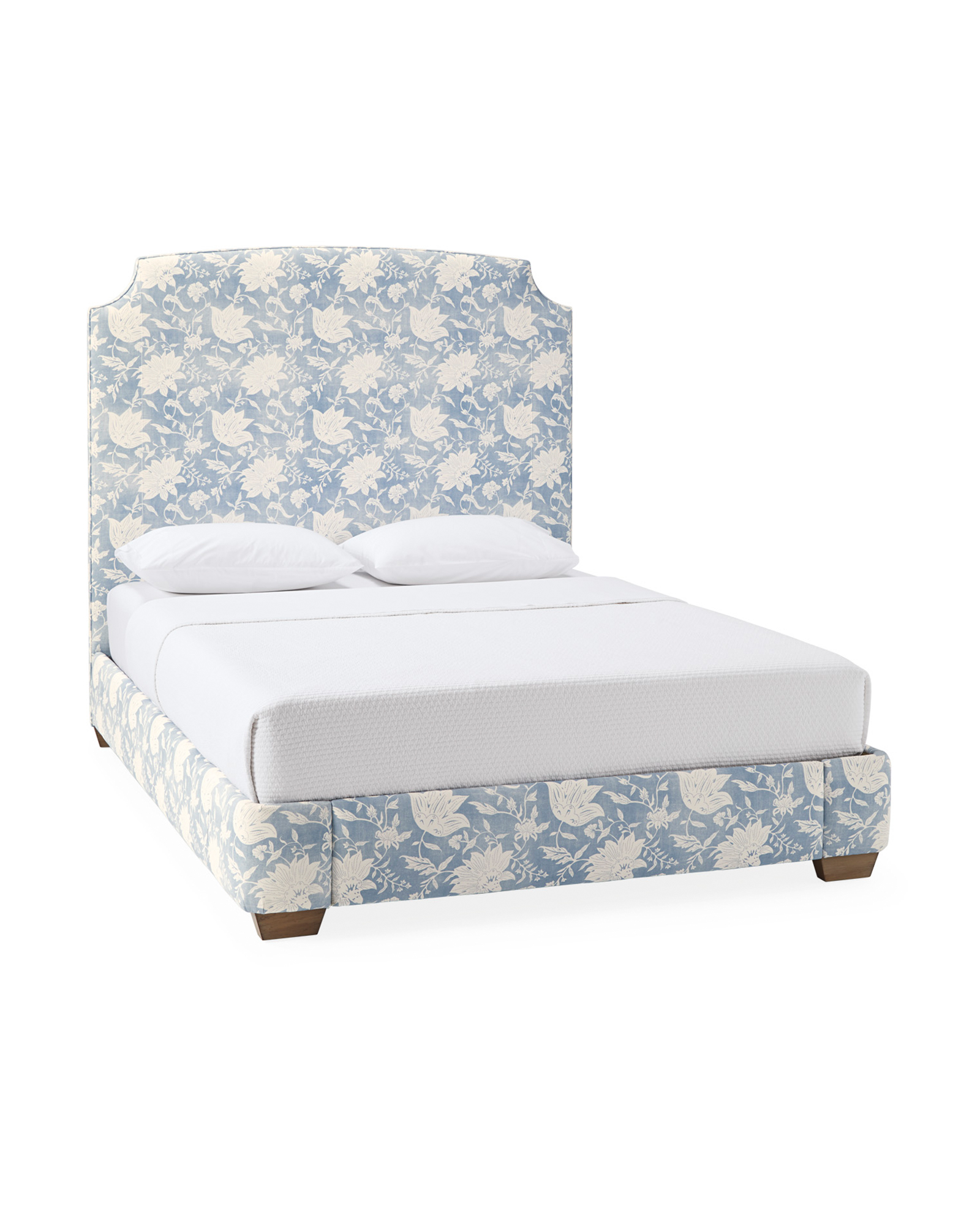 Tall Fillmore Bed - Deauville Coastal Blue,