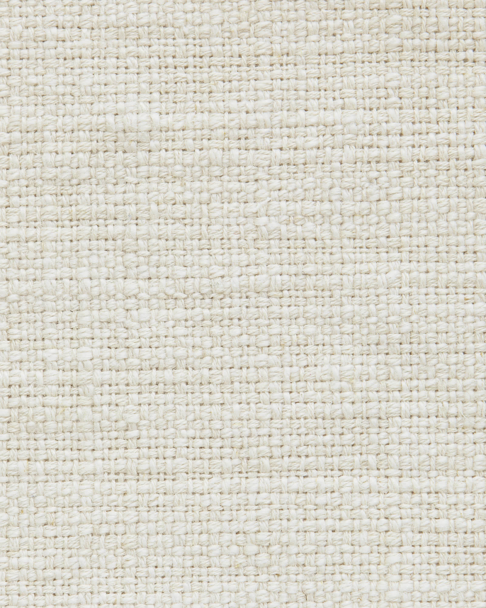 Fabric by the Yard – Linen Basketweave Fabric, Ivory