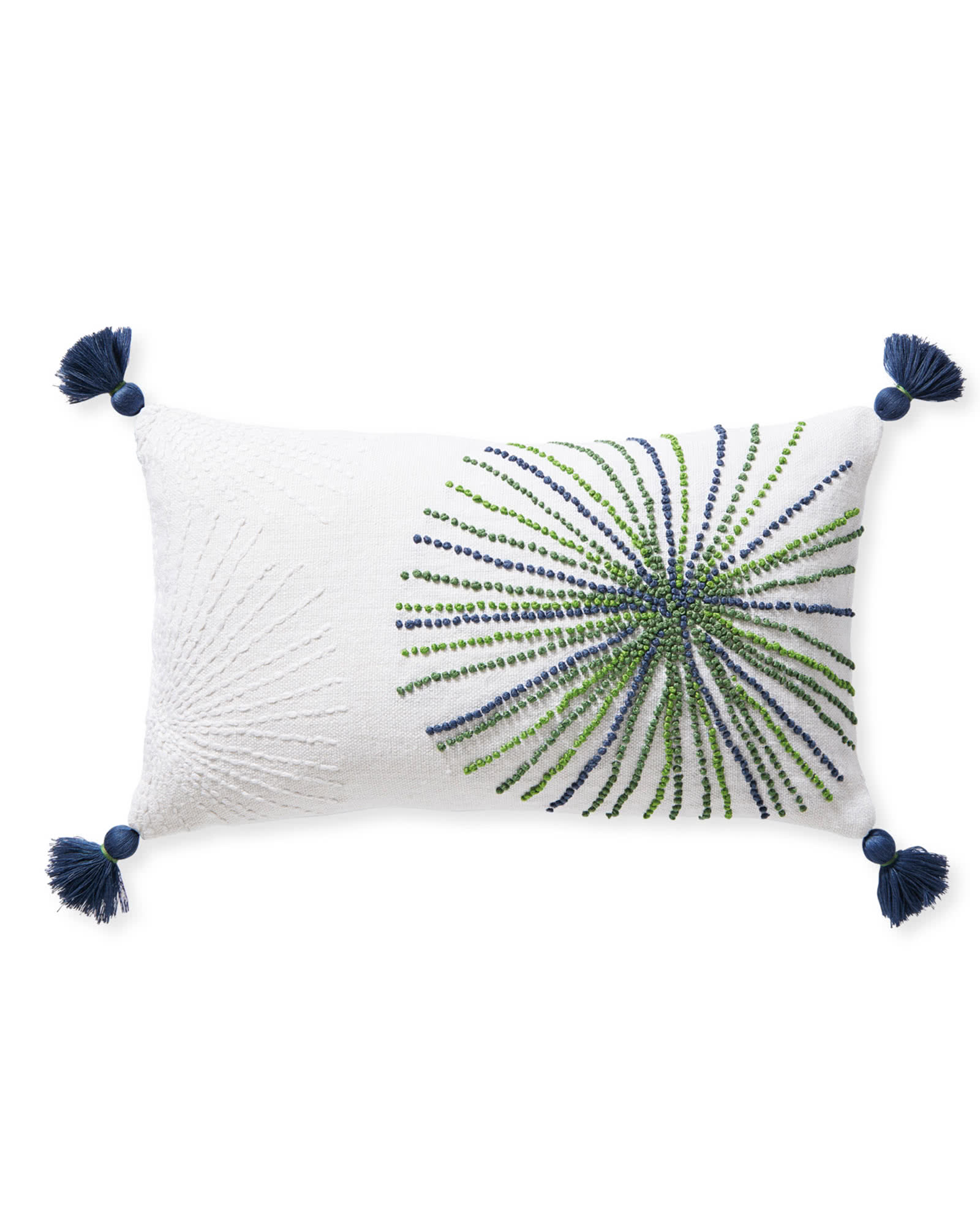 Ridgewater Pillow Cover, Green