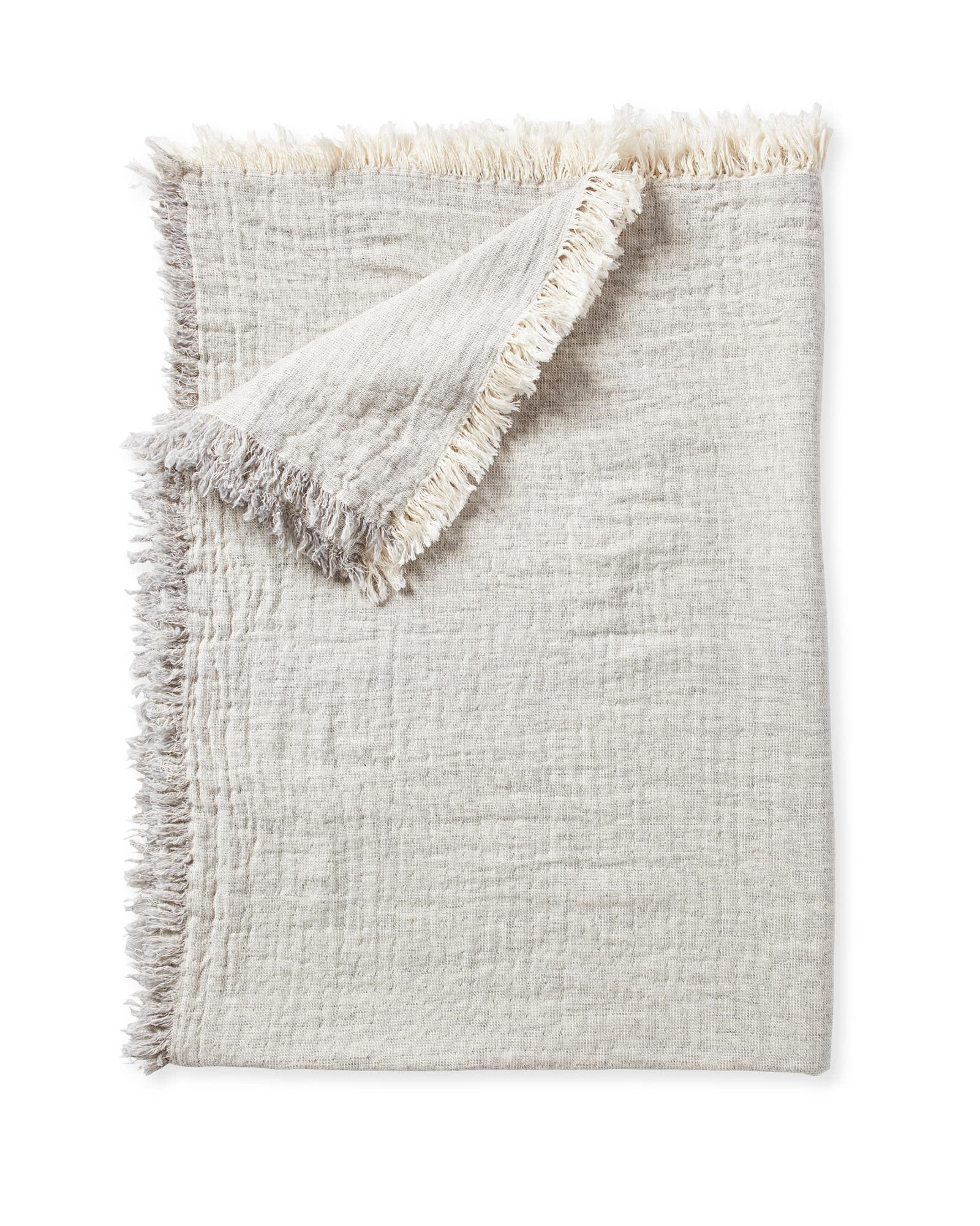 Skye Cotton Throw, Linen