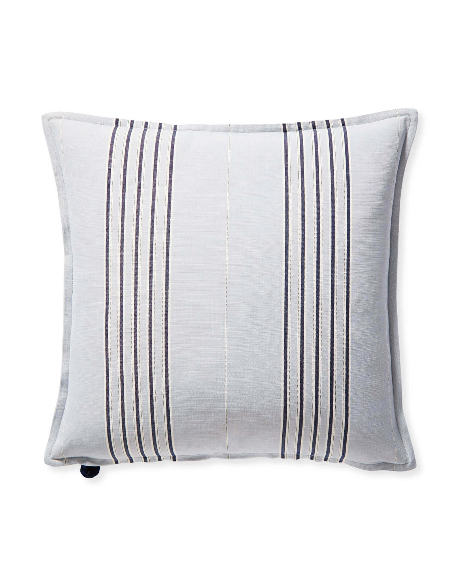 Perennials® Lake Stripe Pillow Cover, Sky Blue