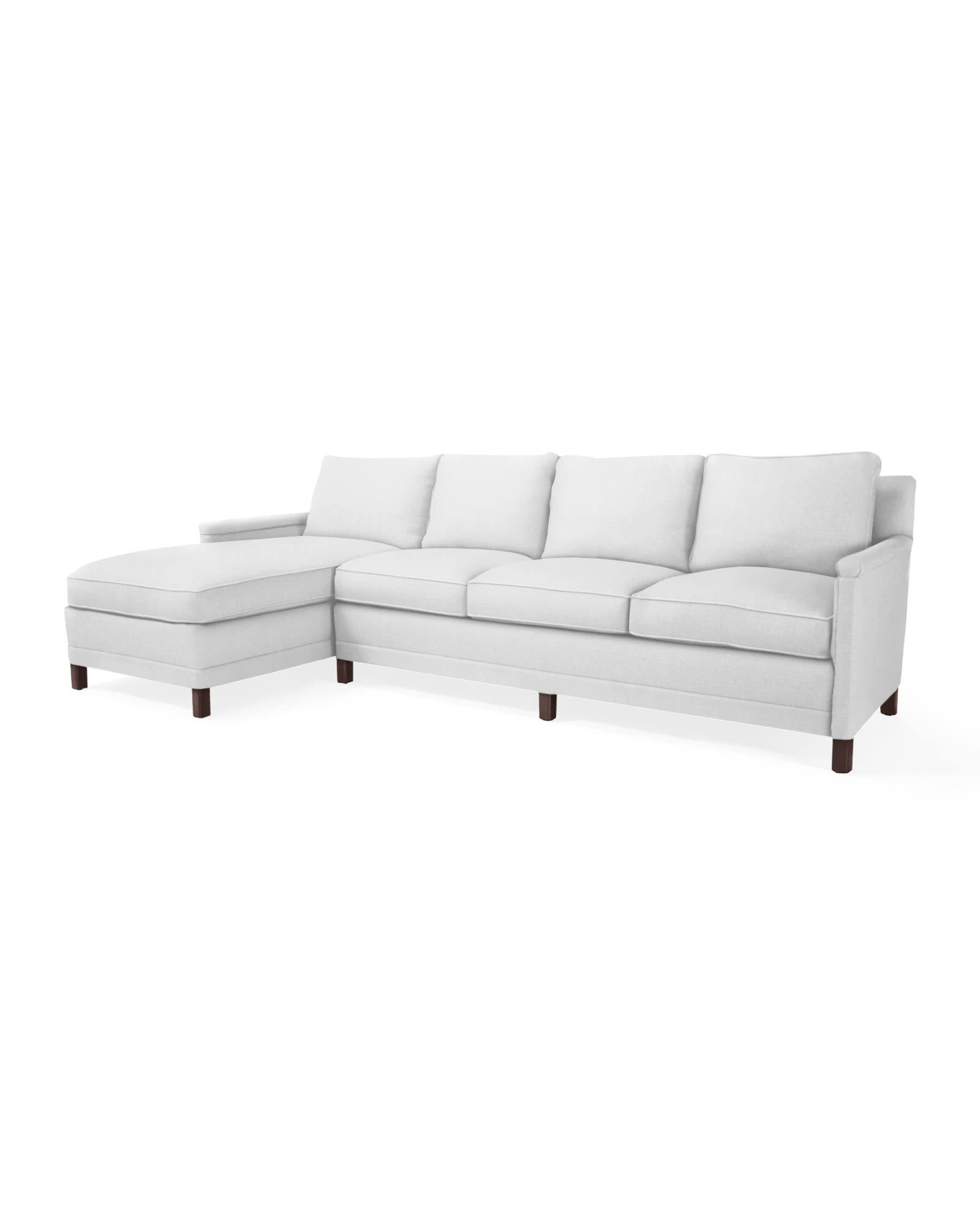 Spruce Street Left-Facing Chaise Sectional,