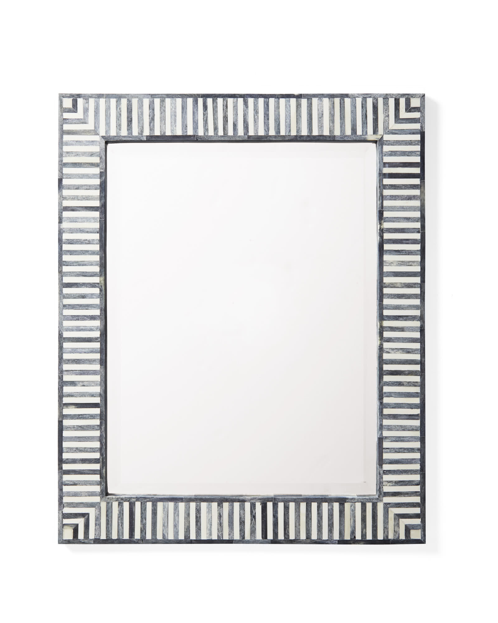 Bar Harbor Bone Inlay Mirror, Fog