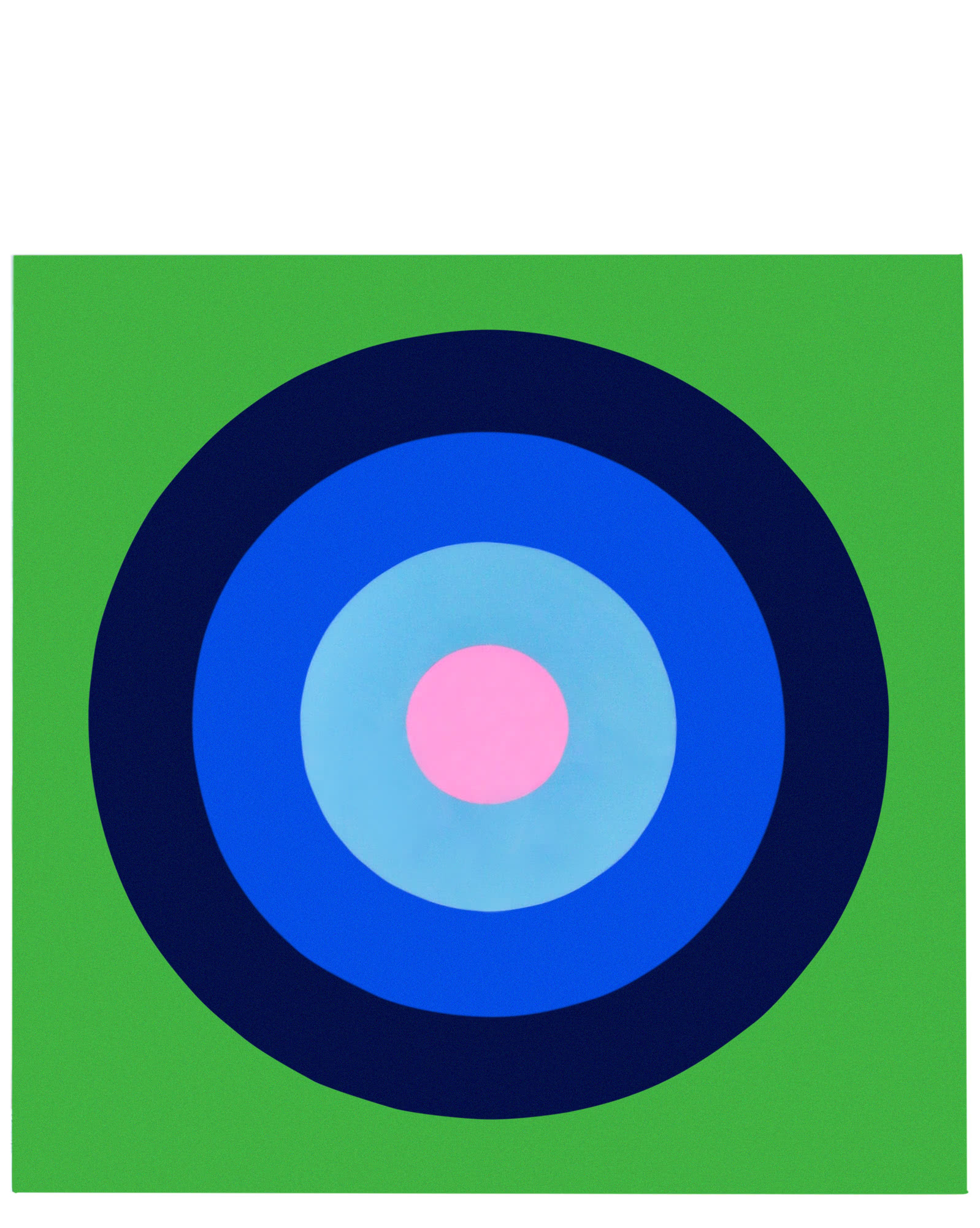 """""""Ultra Glossy Target on Grass Green"""" by Stephanie Henderson,"""