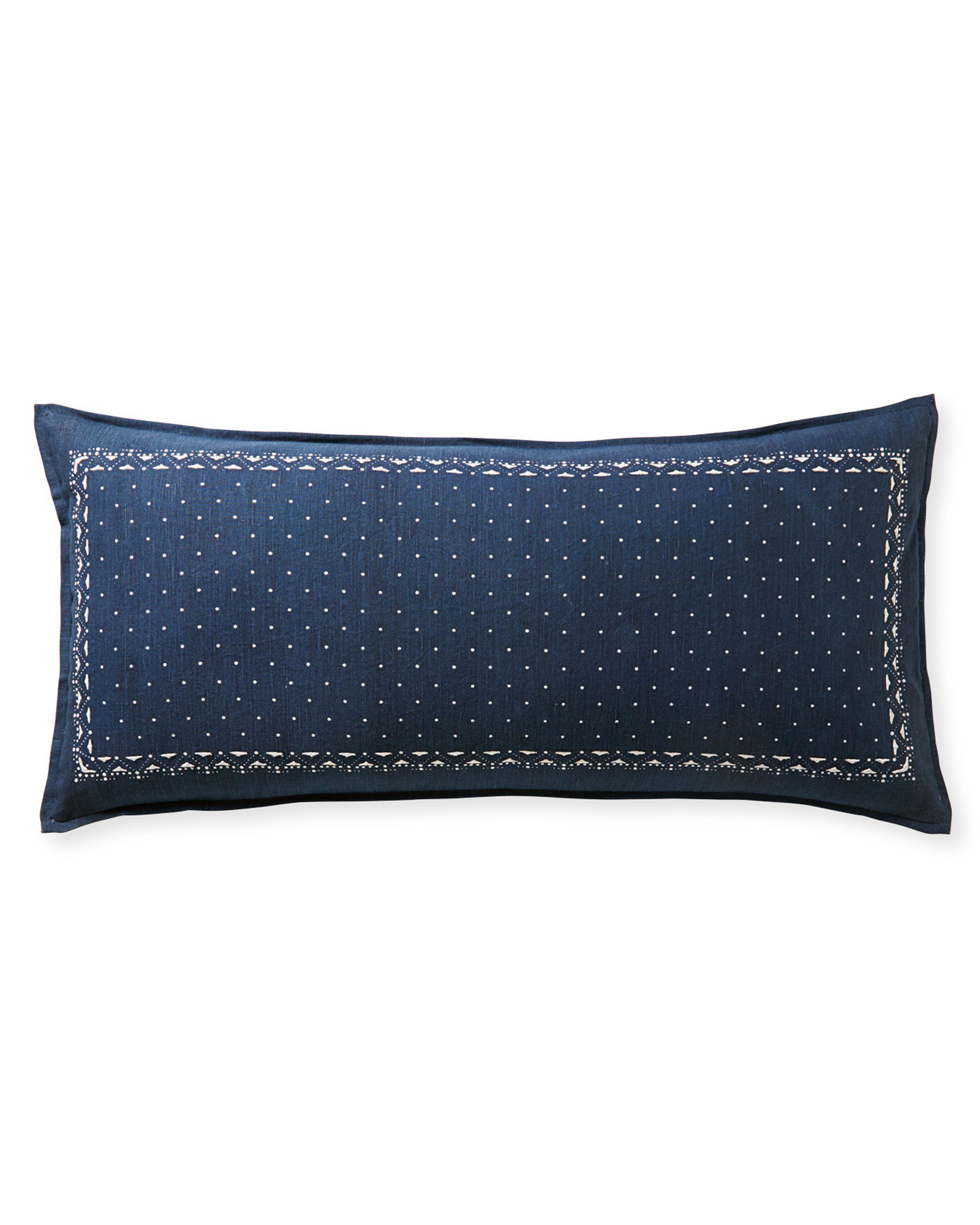 Oakdale Pillow Cover, Vintage Indigo