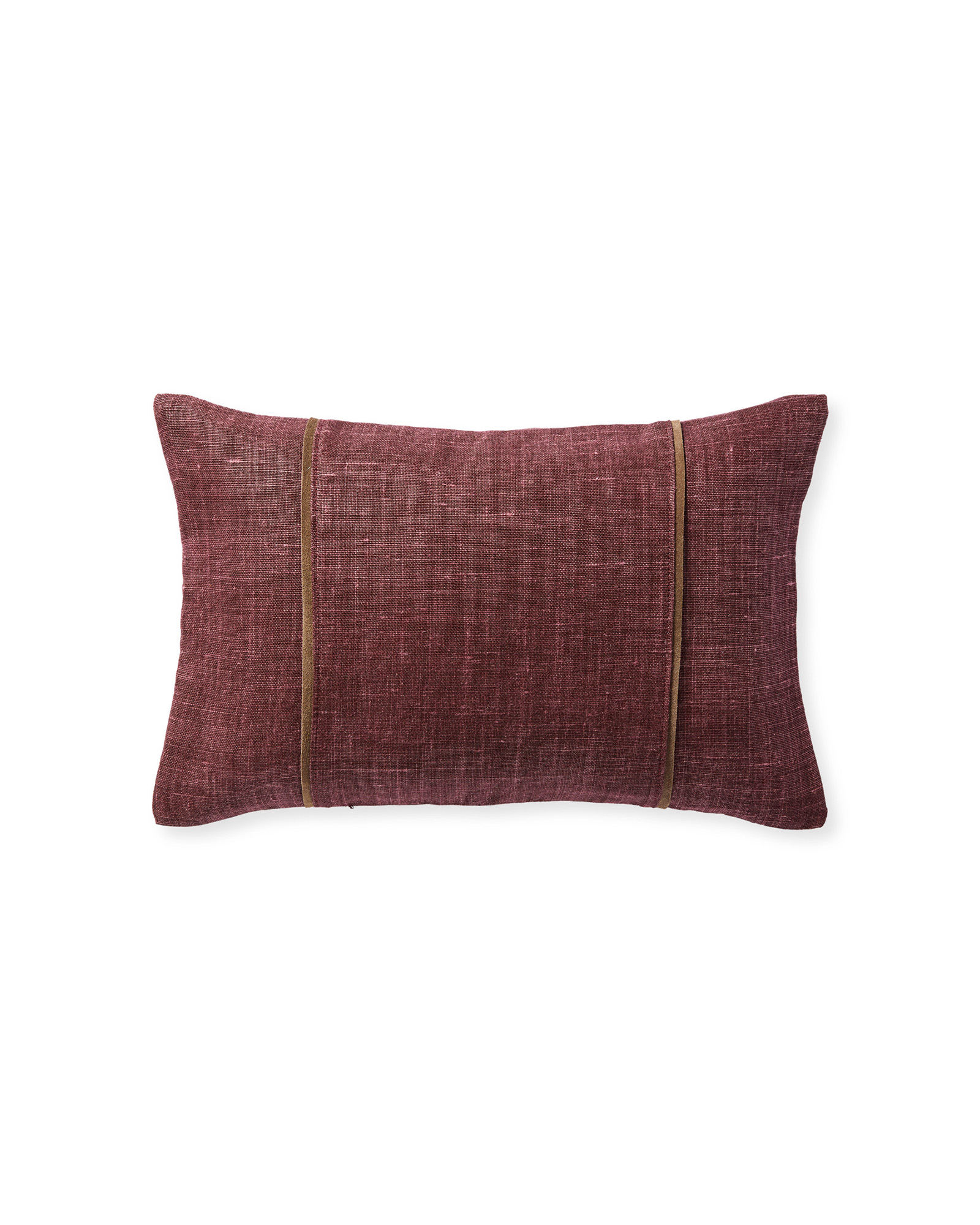 Kentfield Pillow Cover, Merlot