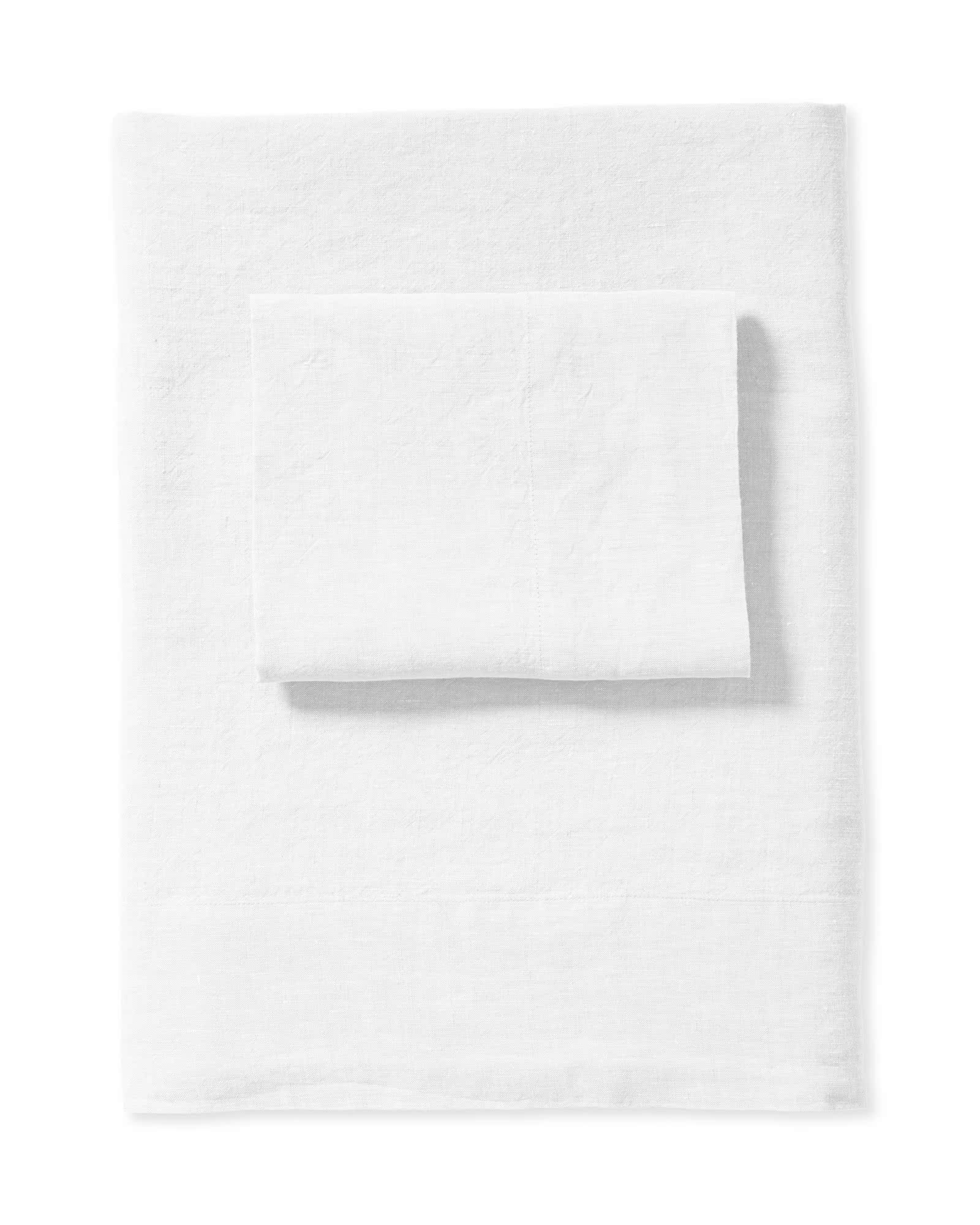 Cavallo Linen Sheet Set, White