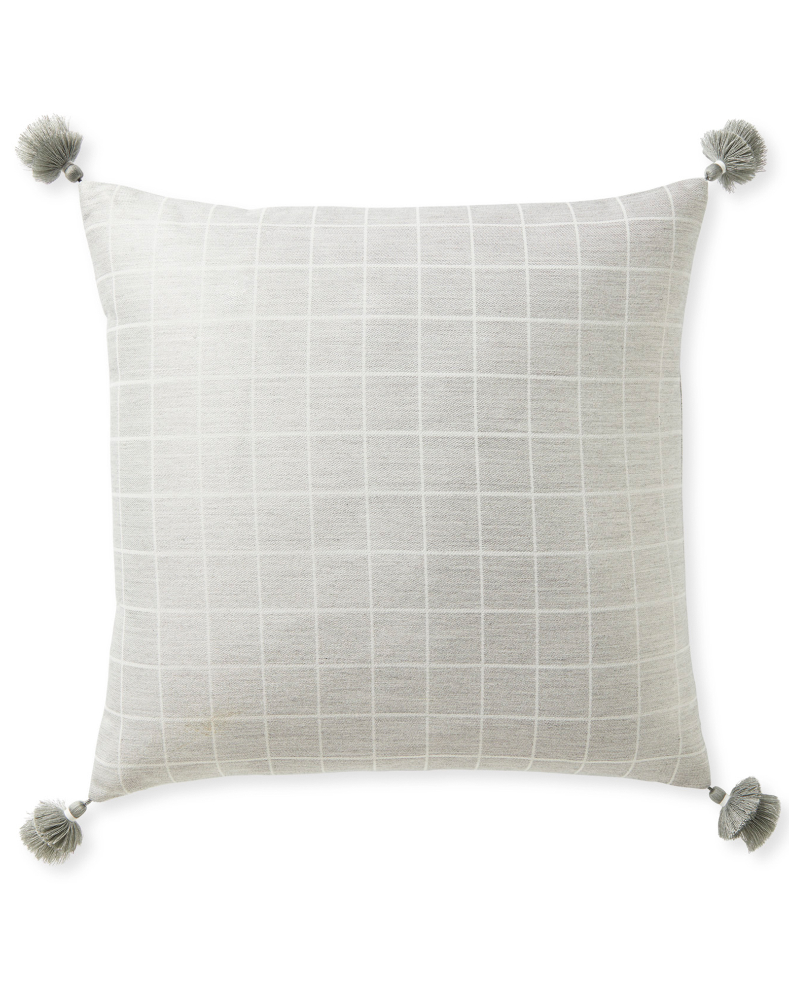 Sunbrella® Mayne Pillow Cover, Fog