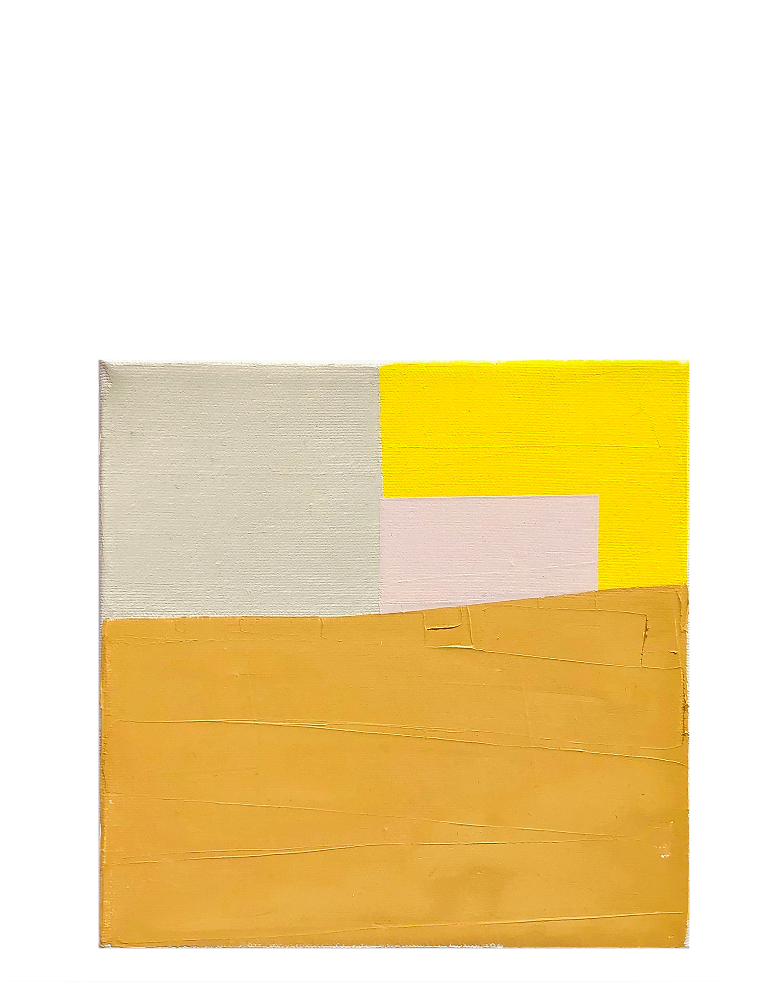 """""""Color Study, Ochre and Pink"""" by Laurie Fisher,"""