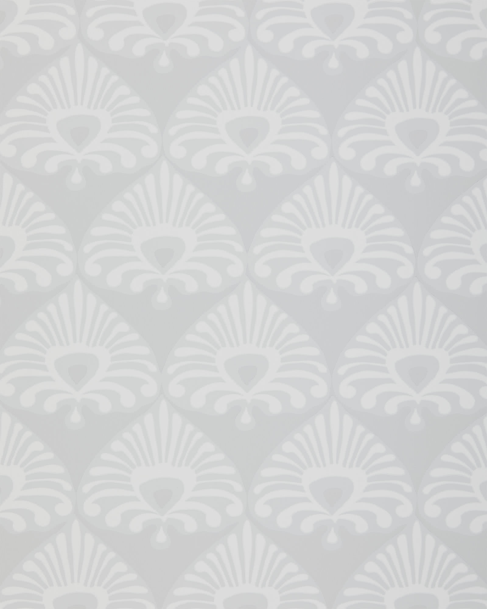 Palmetto Wallpaper, Bone