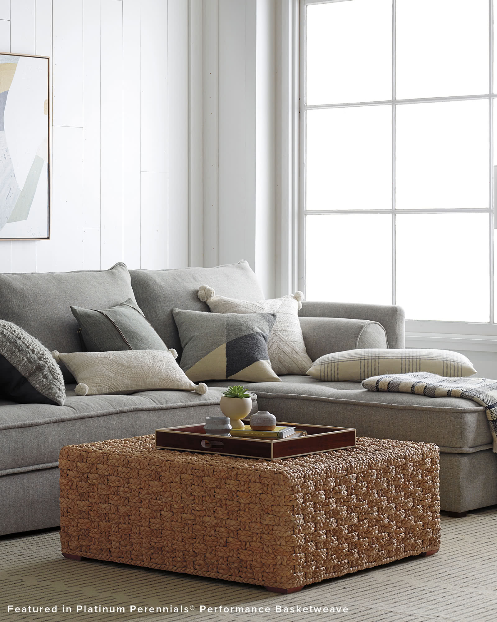 Bennett Chaise Sectional - Right Facing,