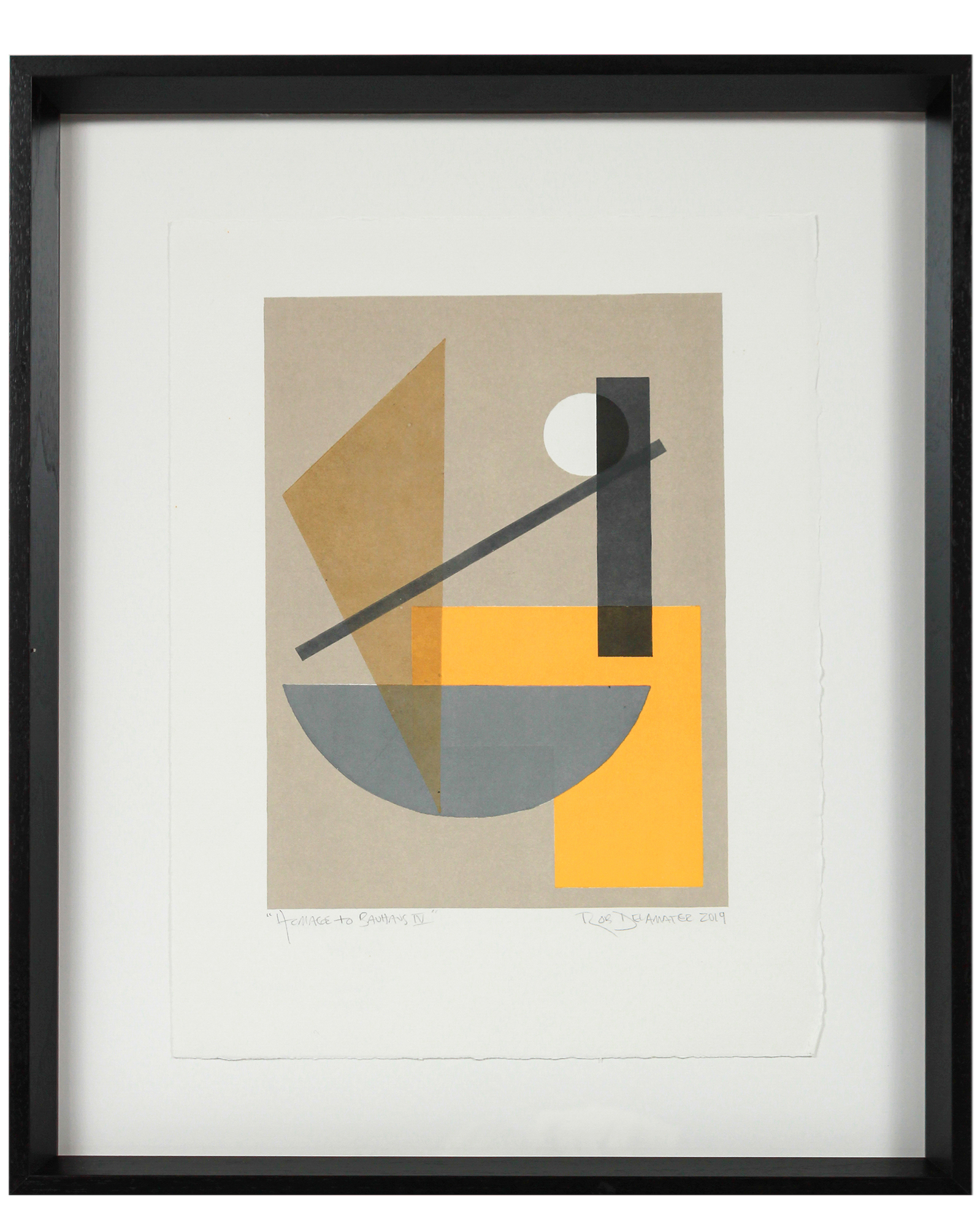 """Homage to Bauhaus I"" by Rob Delamater,"